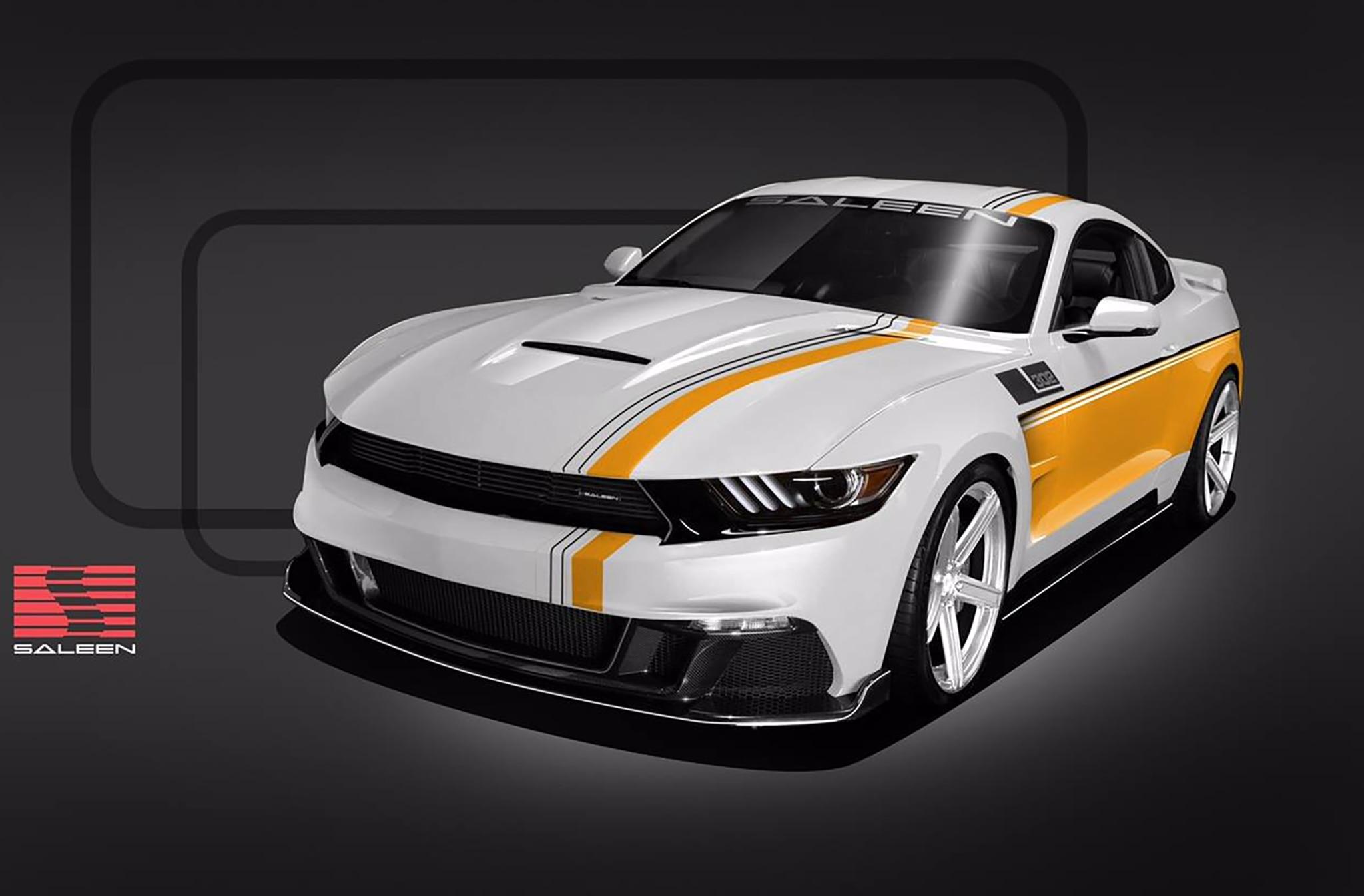 Saleen Automotive Presenta Mustang De Edici N Especial