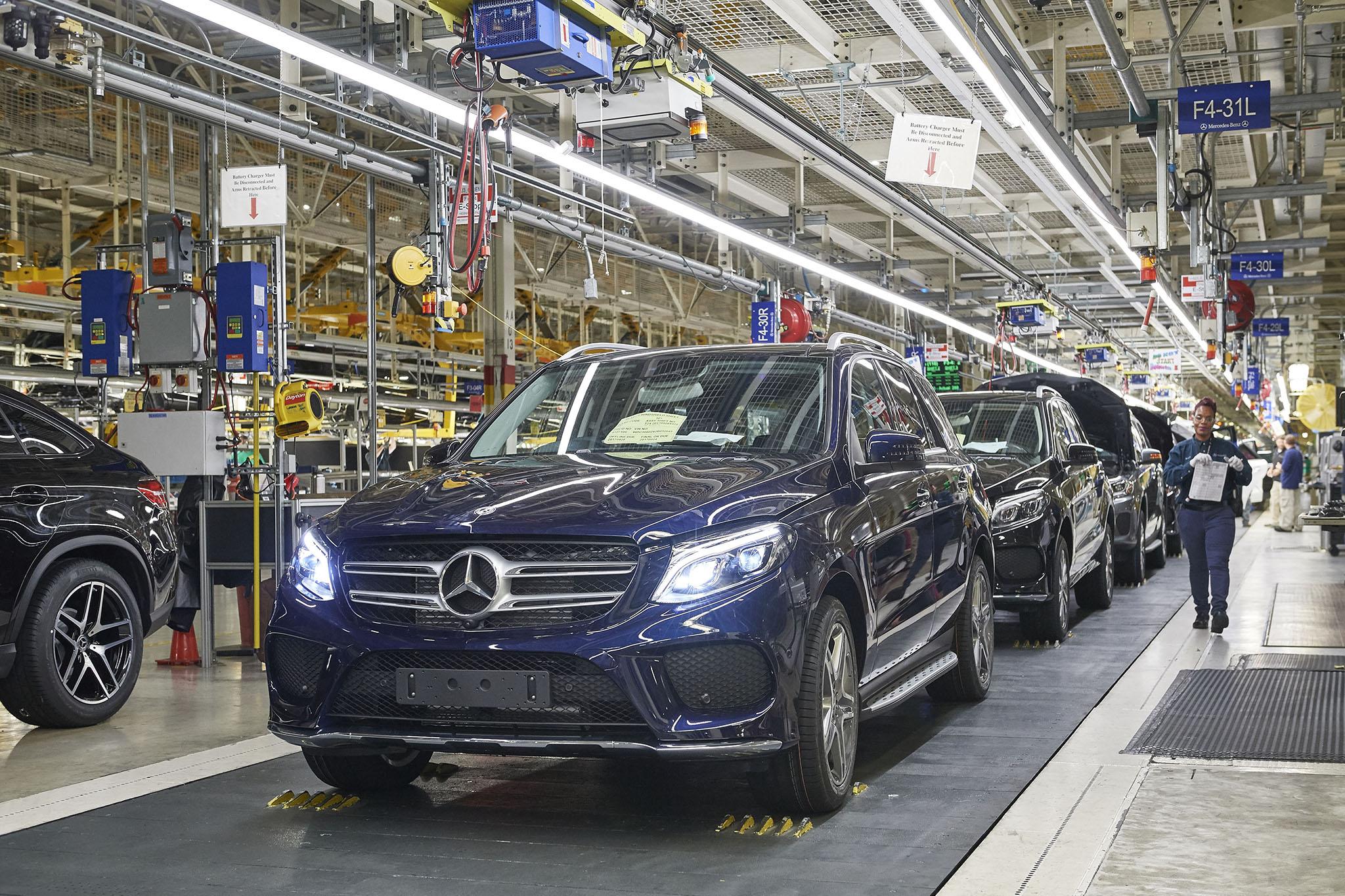 Mercedes Benz Tuscaloosa Plant