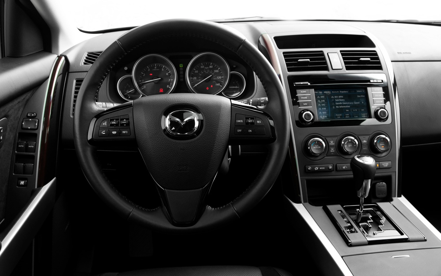 mazda cx 9 2013 grand touring awd autos terra motor trend. Black Bedroom Furniture Sets. Home Design Ideas