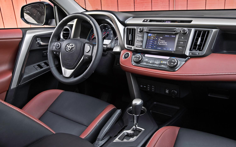 2013 Toyota Rav4 Limited Interior Motor Trend En Espa 241 Ol