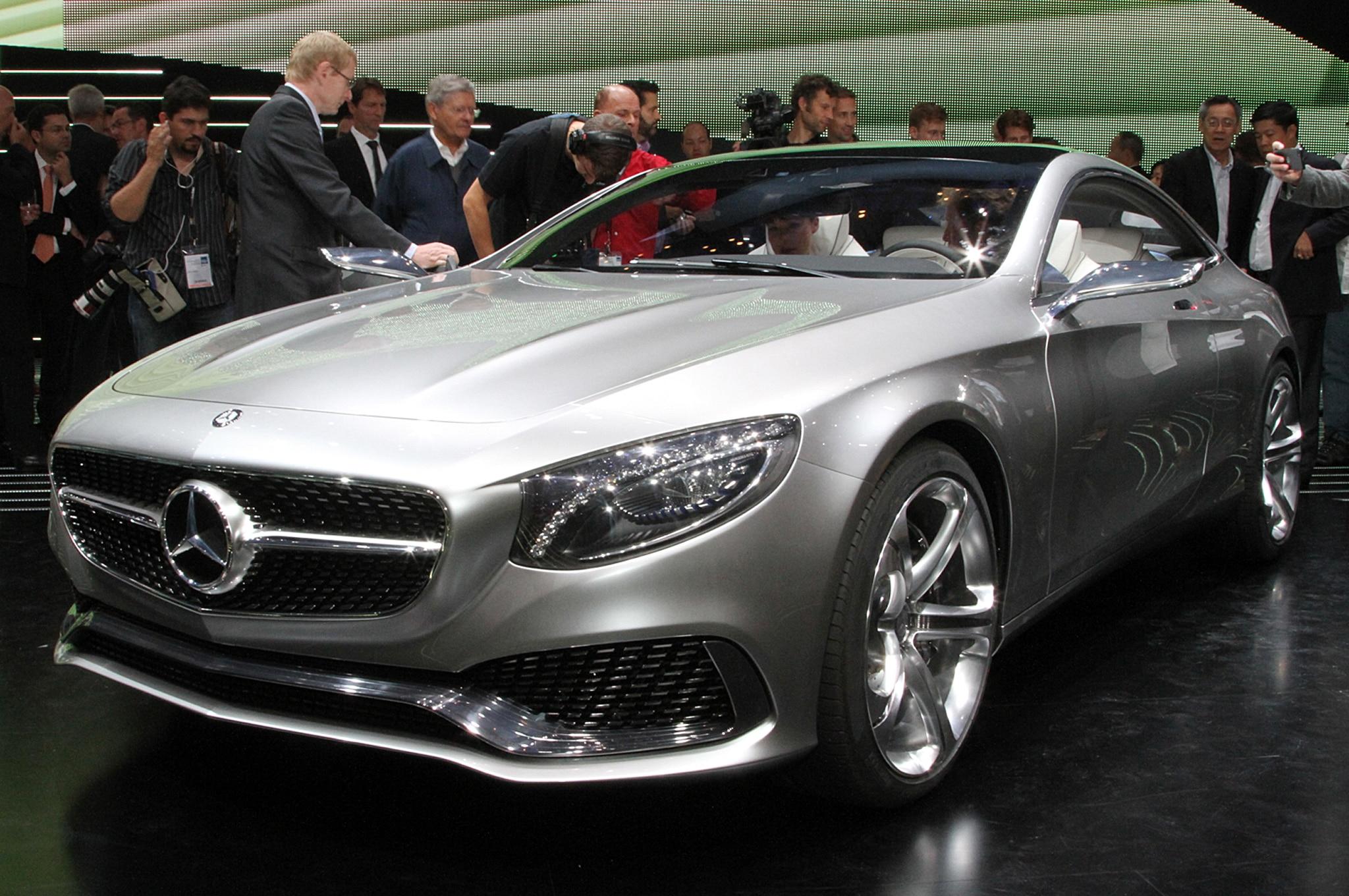 Mercedes Benz S Class Coupe Concept Front Three Quarters2