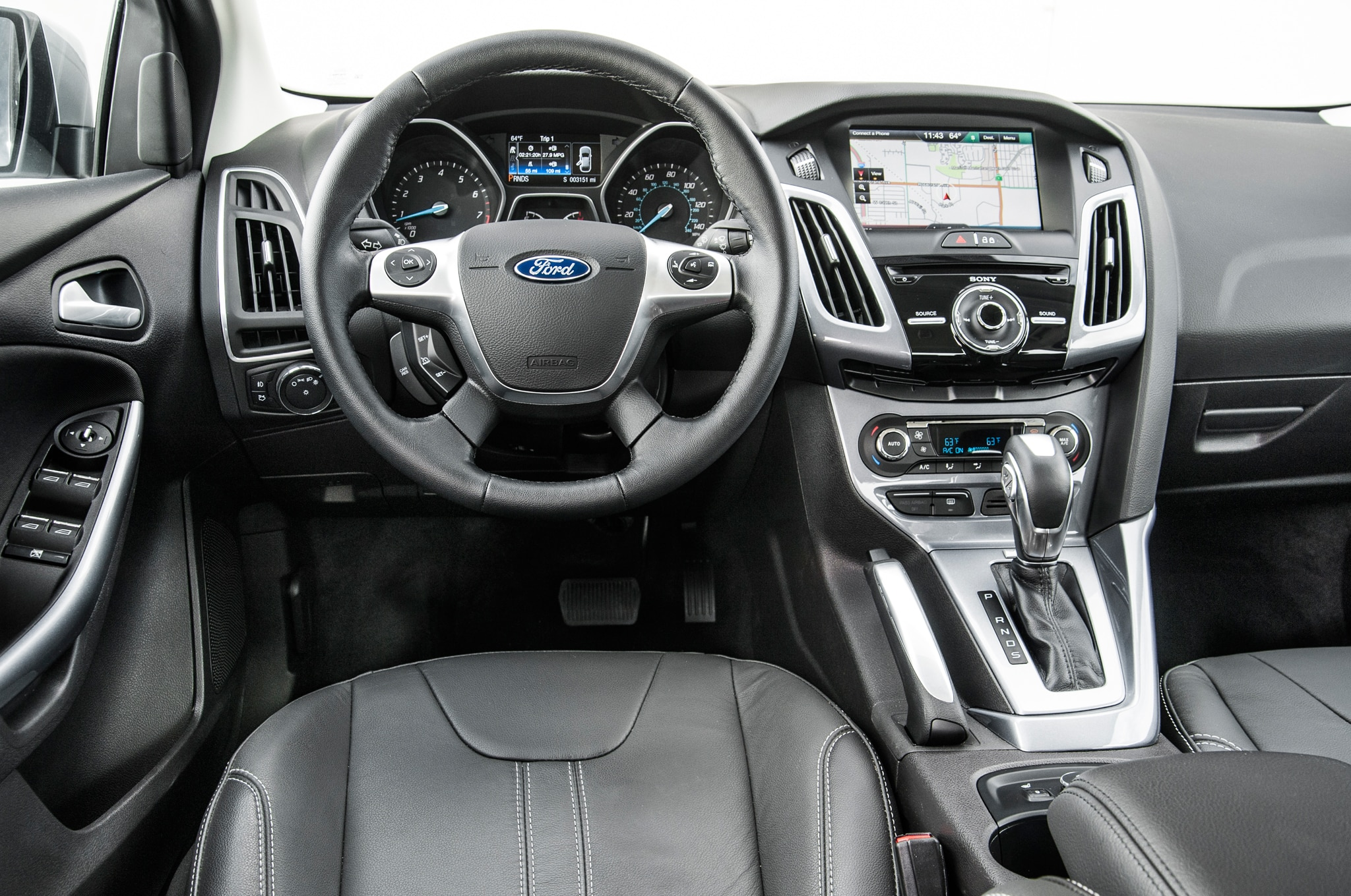 ford focus titanium 2014 primera prueba autos terra motor trend. Black Bedroom Furniture Sets. Home Design Ideas