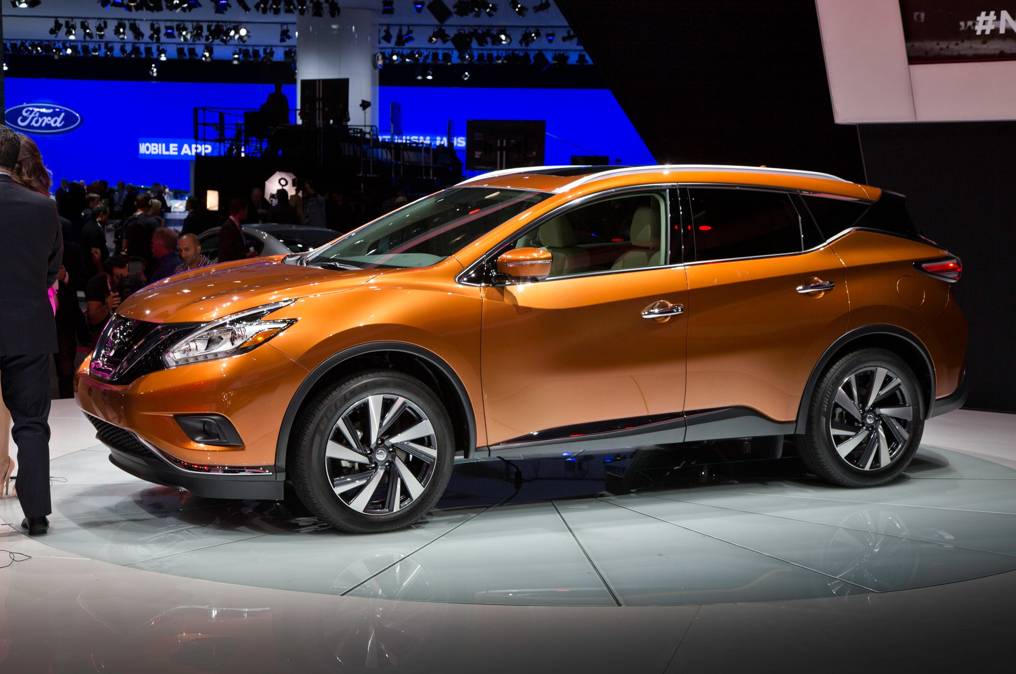 nissan murano 2015 primer vistazo. Black Bedroom Furniture Sets. Home Design Ideas