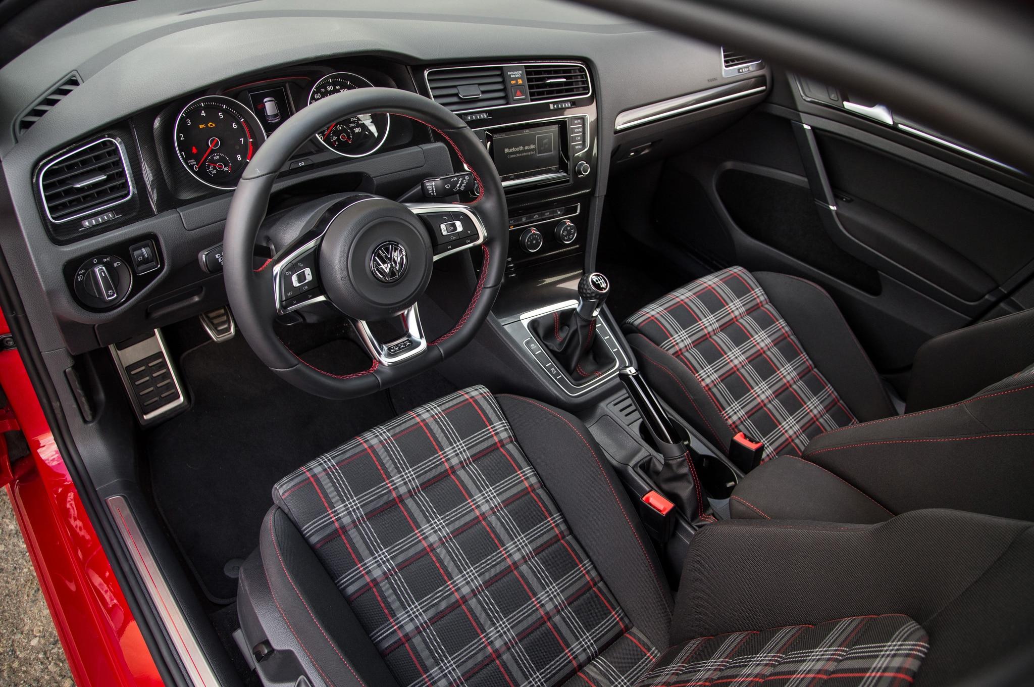 Volkswagen golf gti 2015 primera prueba for Interior volkswagen golf