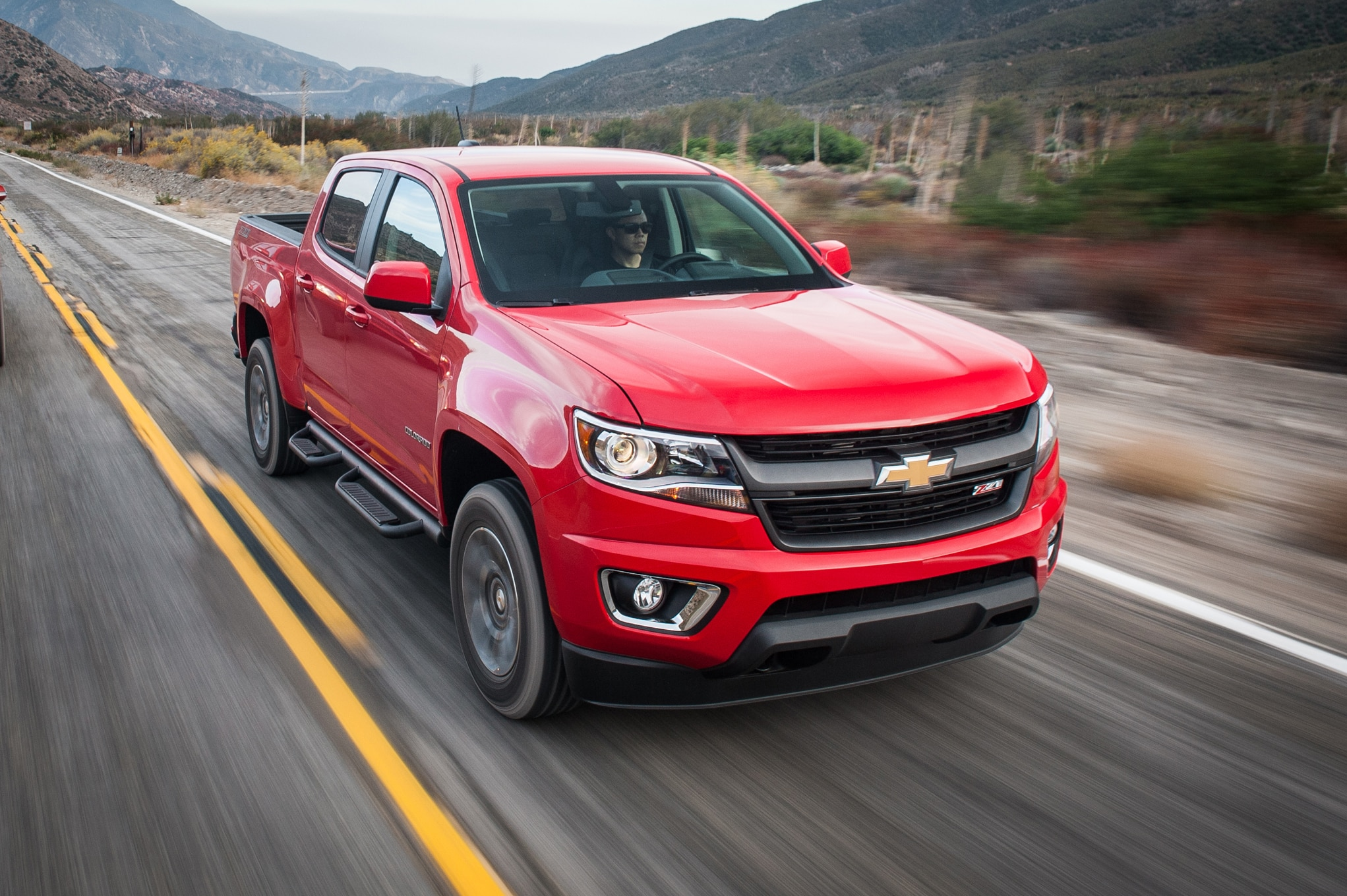 chevrolet colorado z71 2015 primera prueba. Black Bedroom Furniture Sets. Home Design Ideas