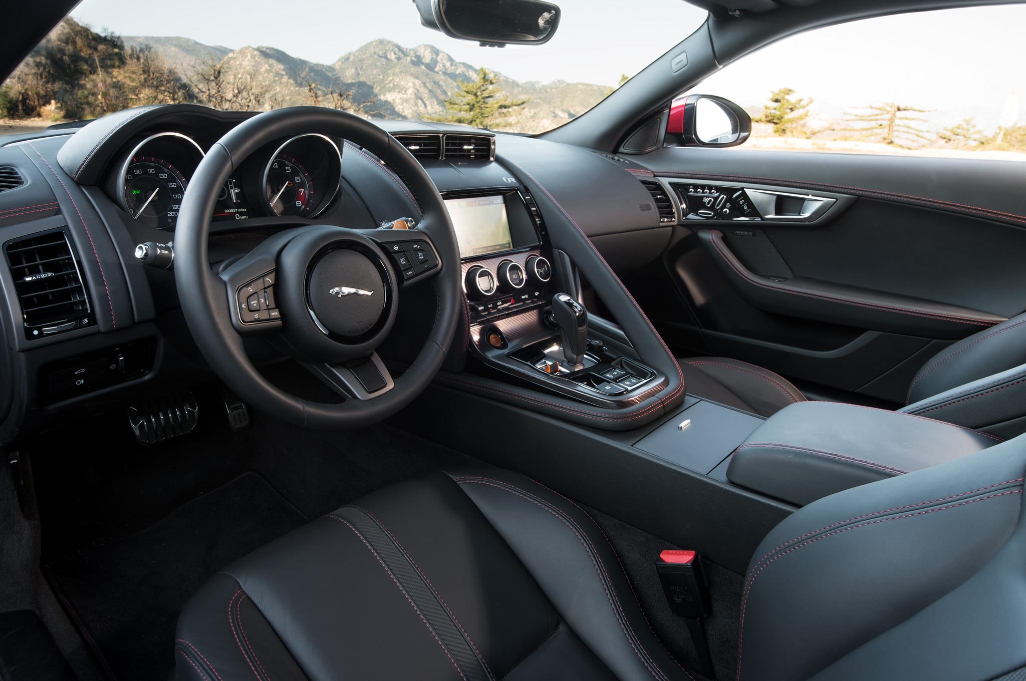 Jaguar F Type Coupe Llegar A Los Angeles