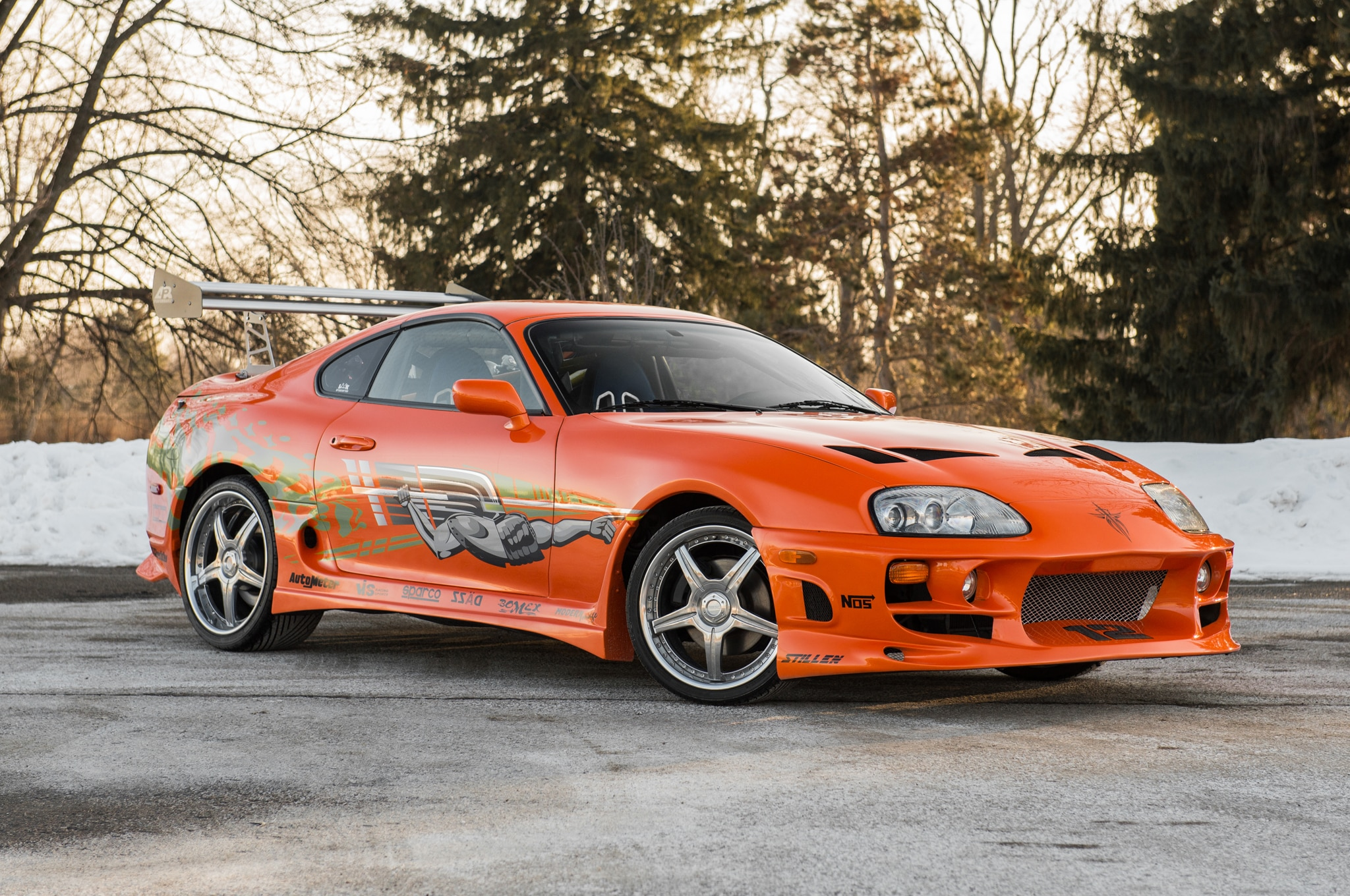 1993 Toyota Supra From The Fast And The Furious Front