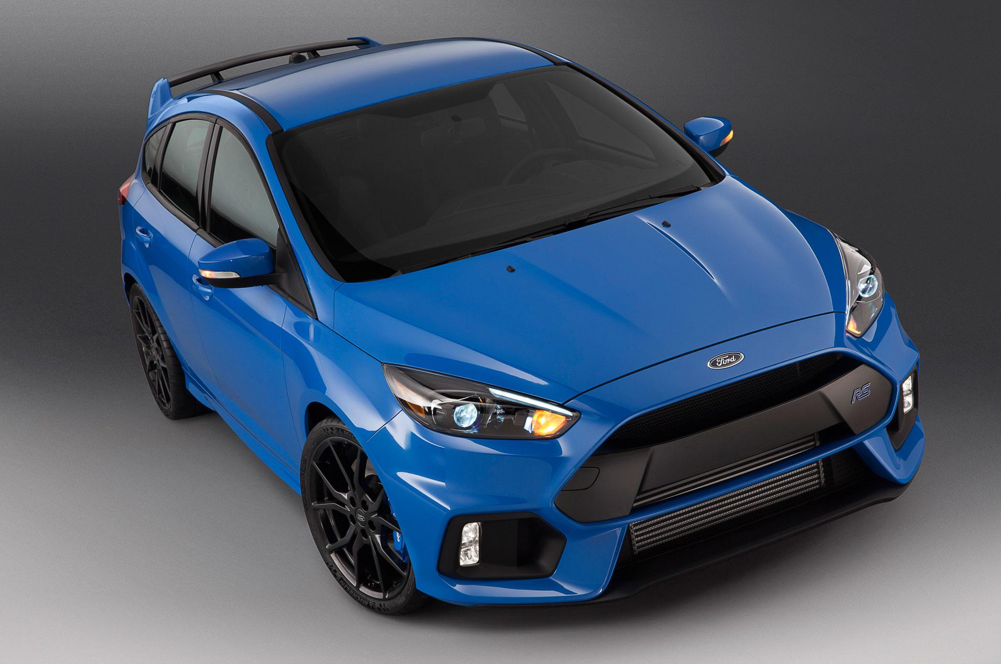 Ford Focus RS 2016 podría costar $36,605