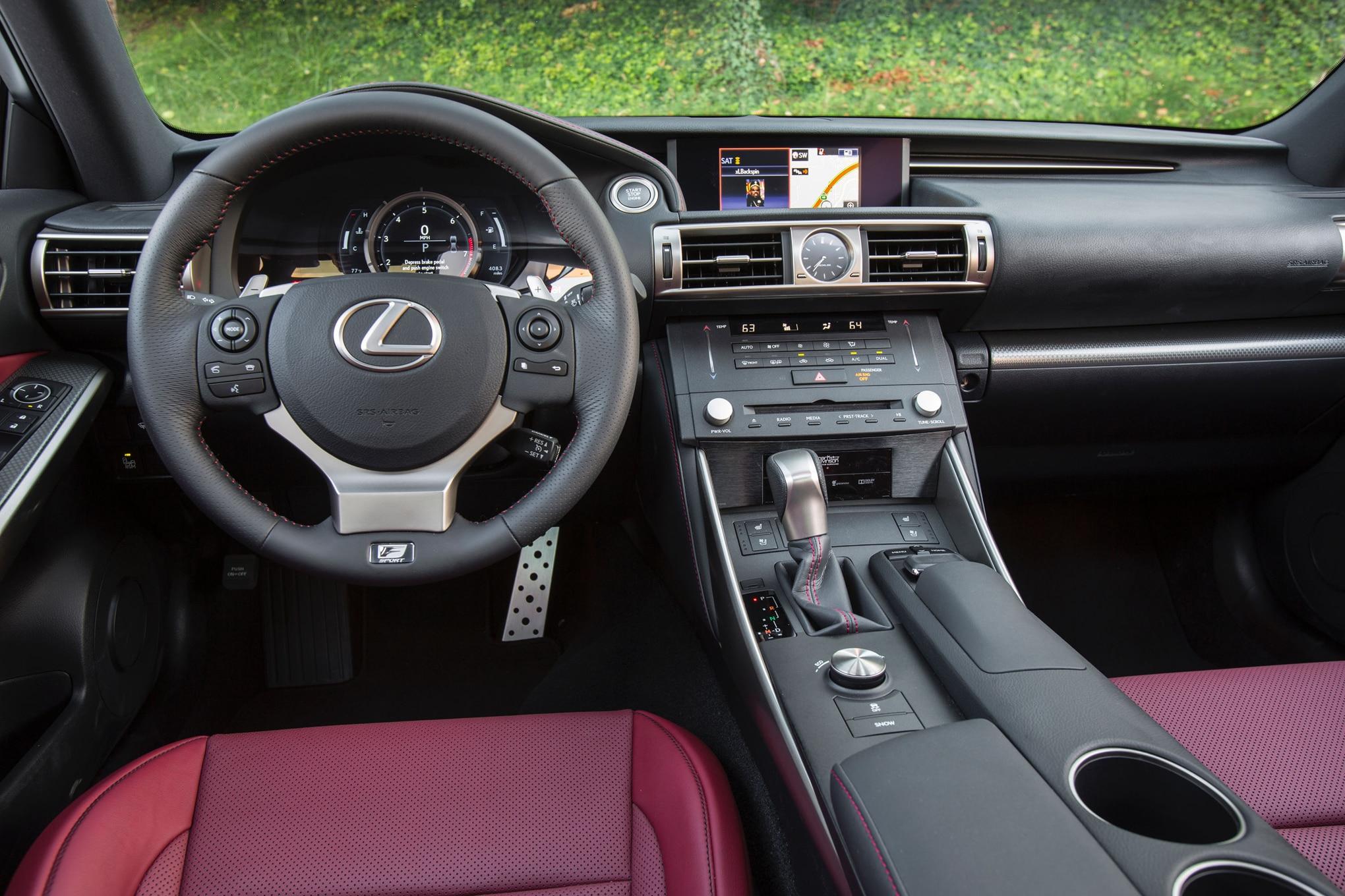 2016-Lexus-IS-300-AWD-F-Sport-interior - Motor Trend en ...