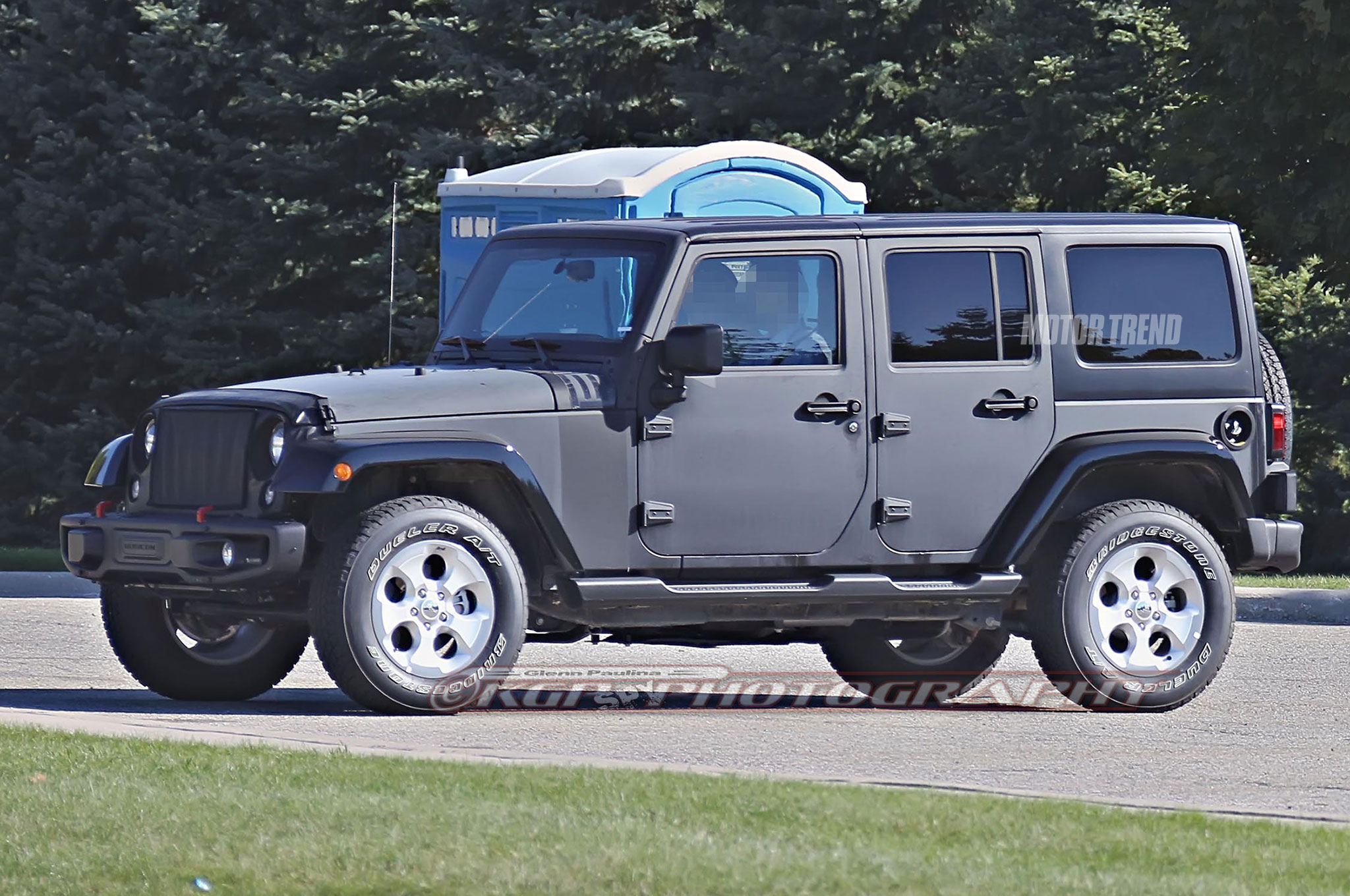 jeep wrangler 2018 es espiado. Black Bedroom Furniture Sets. Home Design Ideas