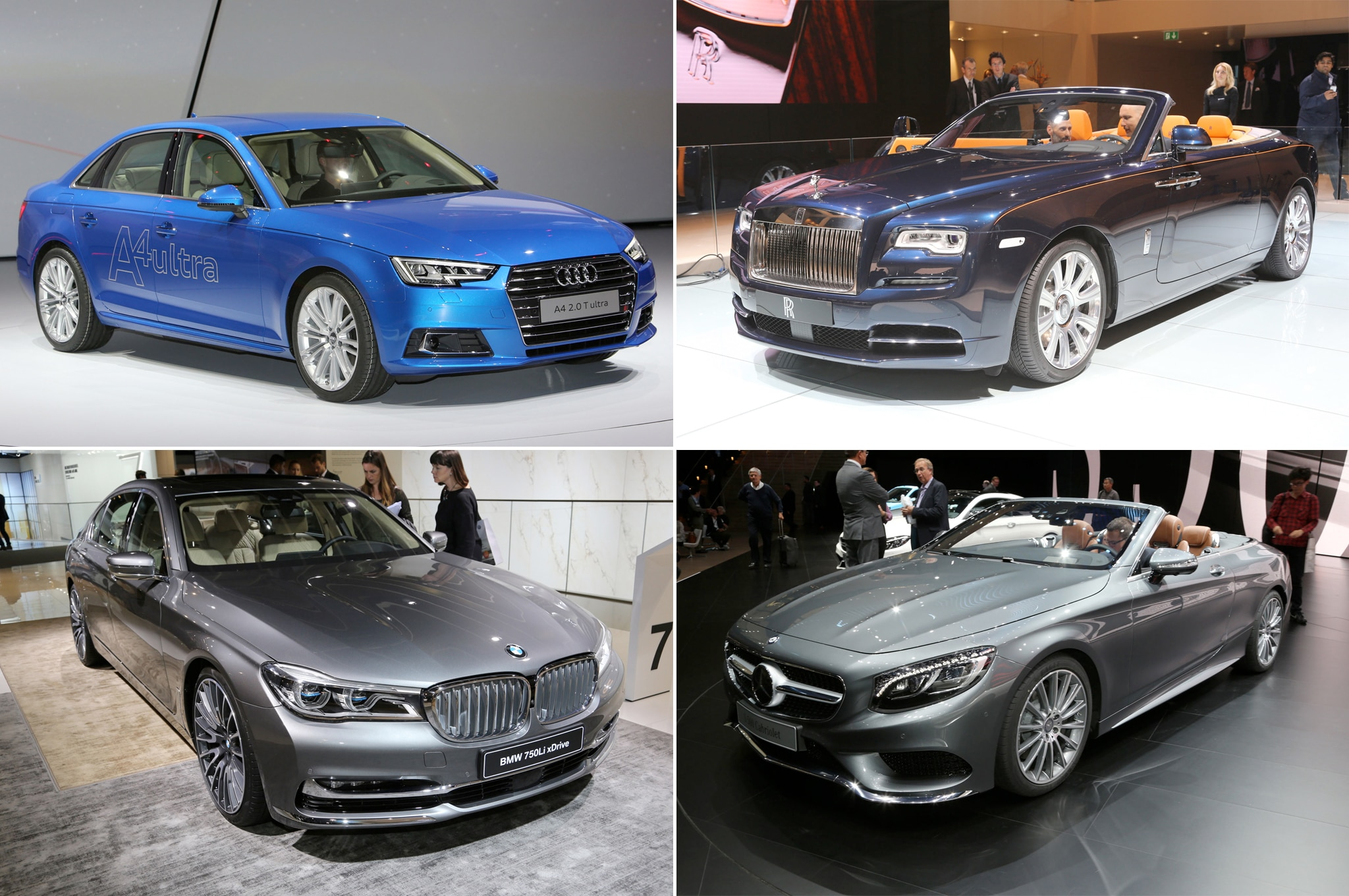 Luxury Cars Of The Frankfurt Motor Show