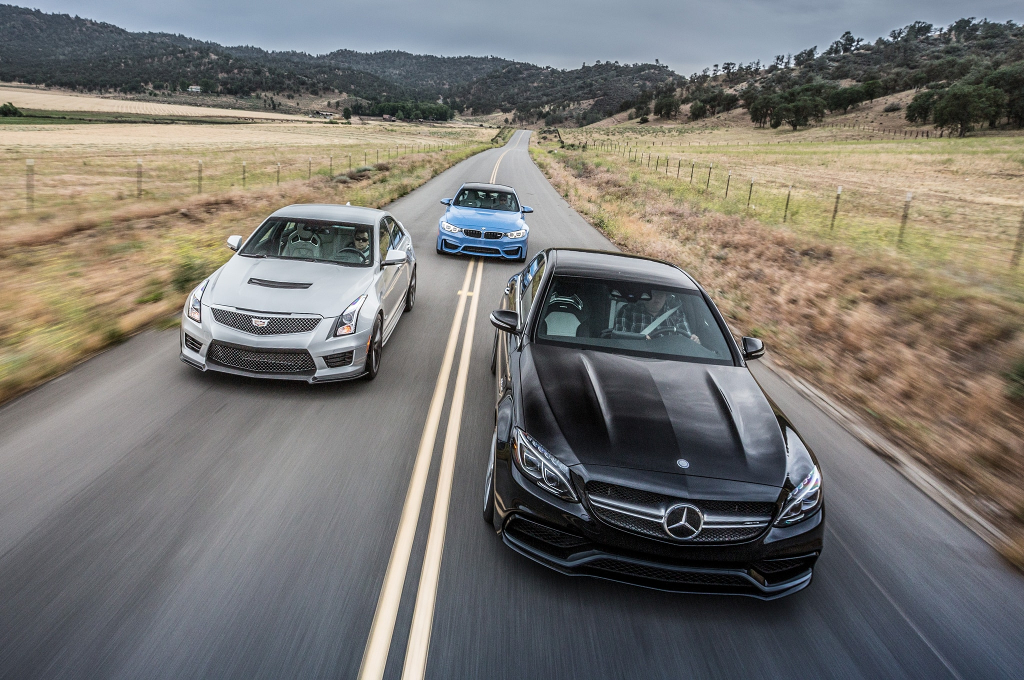 Comparativa Bmw M3 2015 Vs Cadillac Ats V 2016 Vs