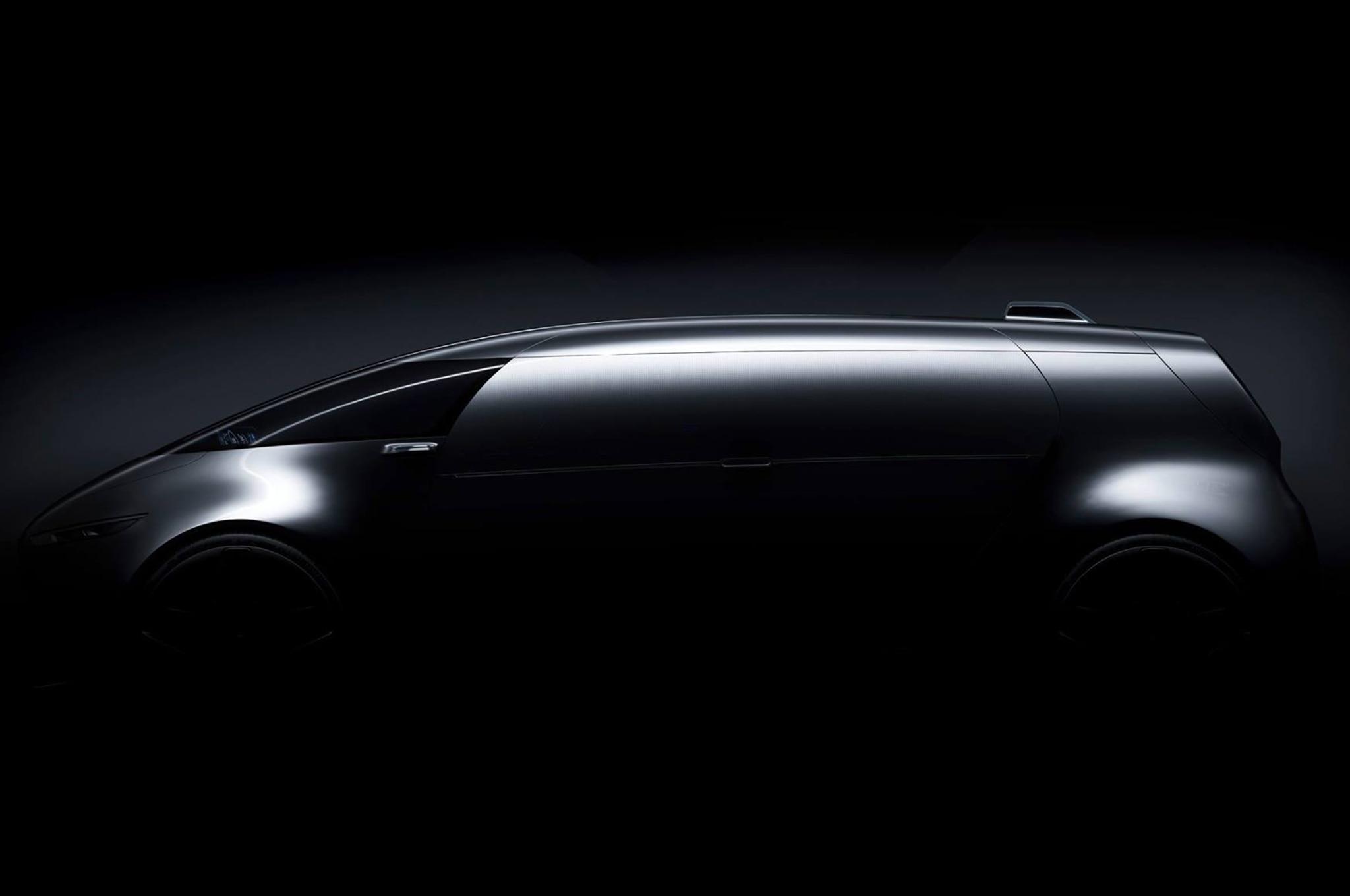 Mercedes Benz Vision Tokyo Teaser