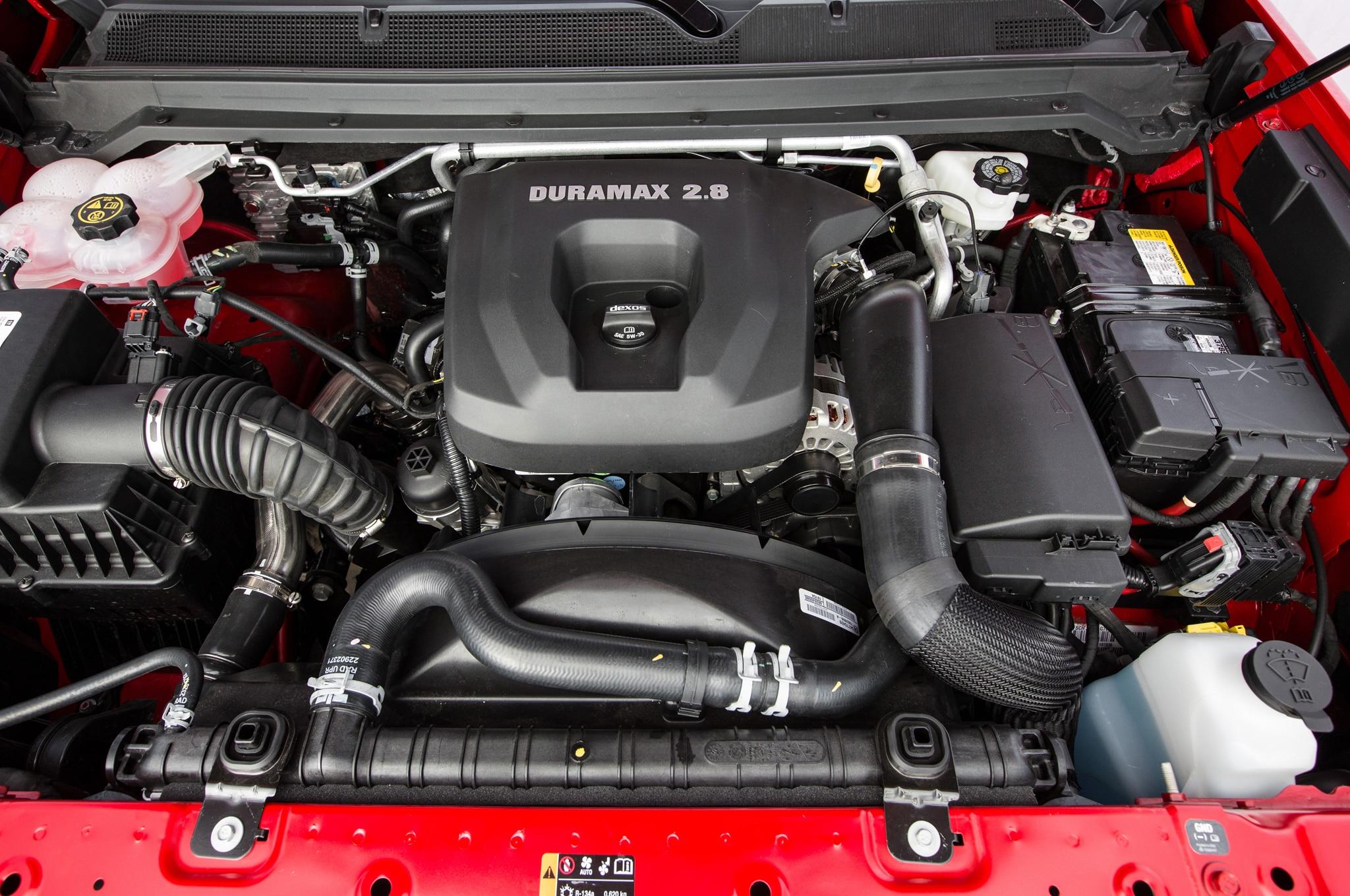 Chevrolet colorado y gmc canyon di sel obtienen 29 31 mpg for Chevy colorado diesel motor