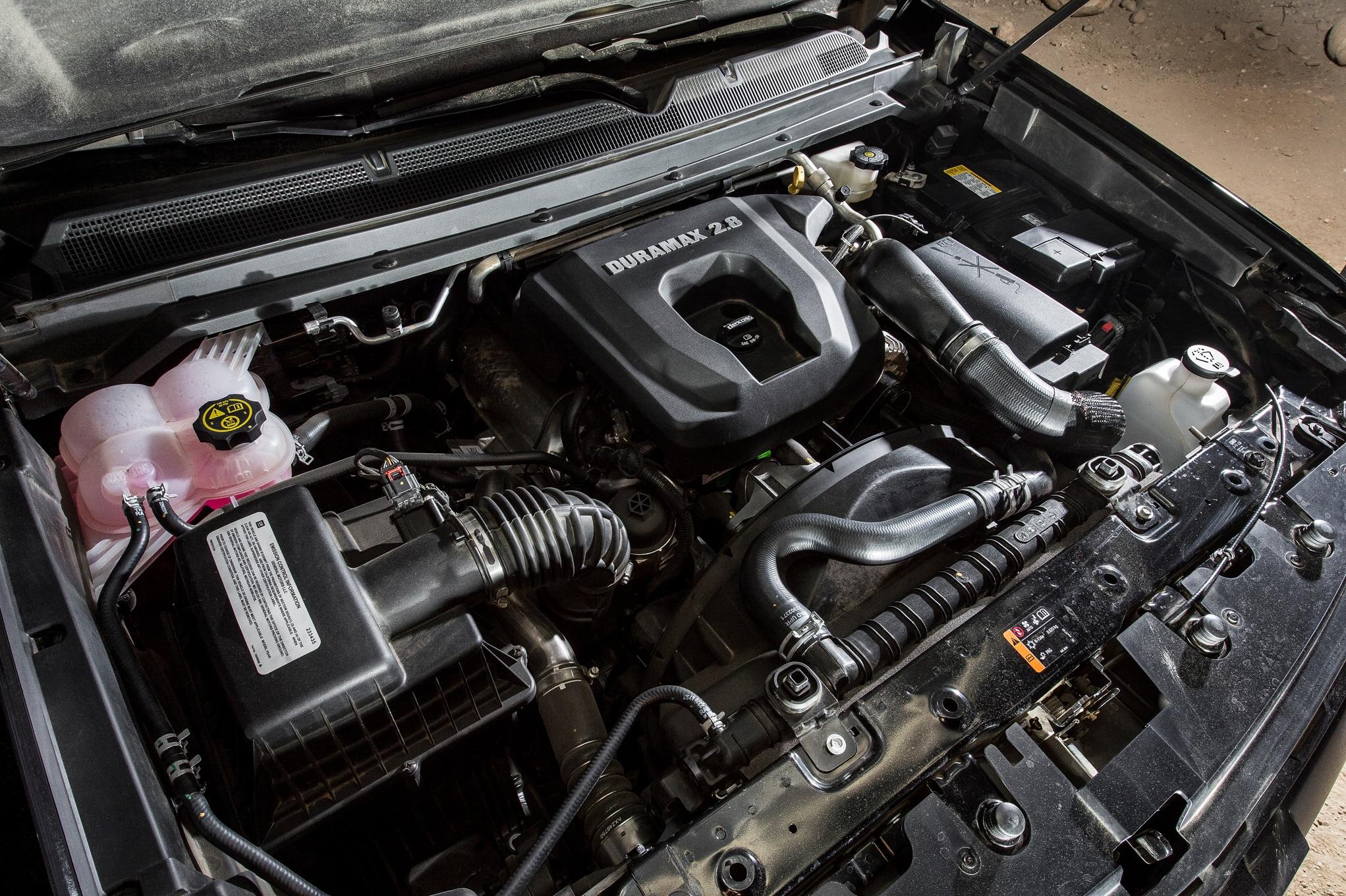 Chevrolet colorado 2016 es la camioneta del a o de motor for Chevy colorado diesel motor