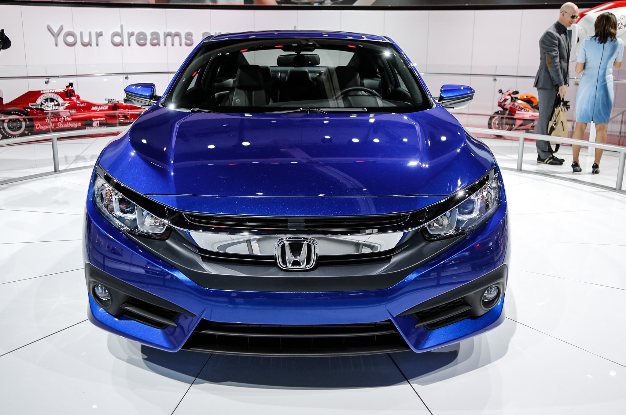 Honda civic coupe 2016 primer vistazo - 2016 honda civic si coupe interior ...