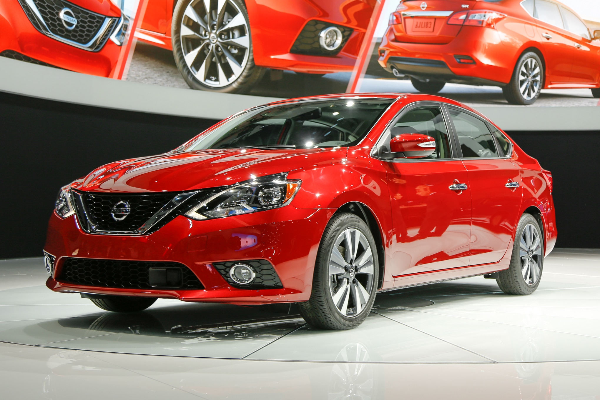 nissan sentra 2016 primer vistazo. Black Bedroom Furniture Sets. Home Design Ideas