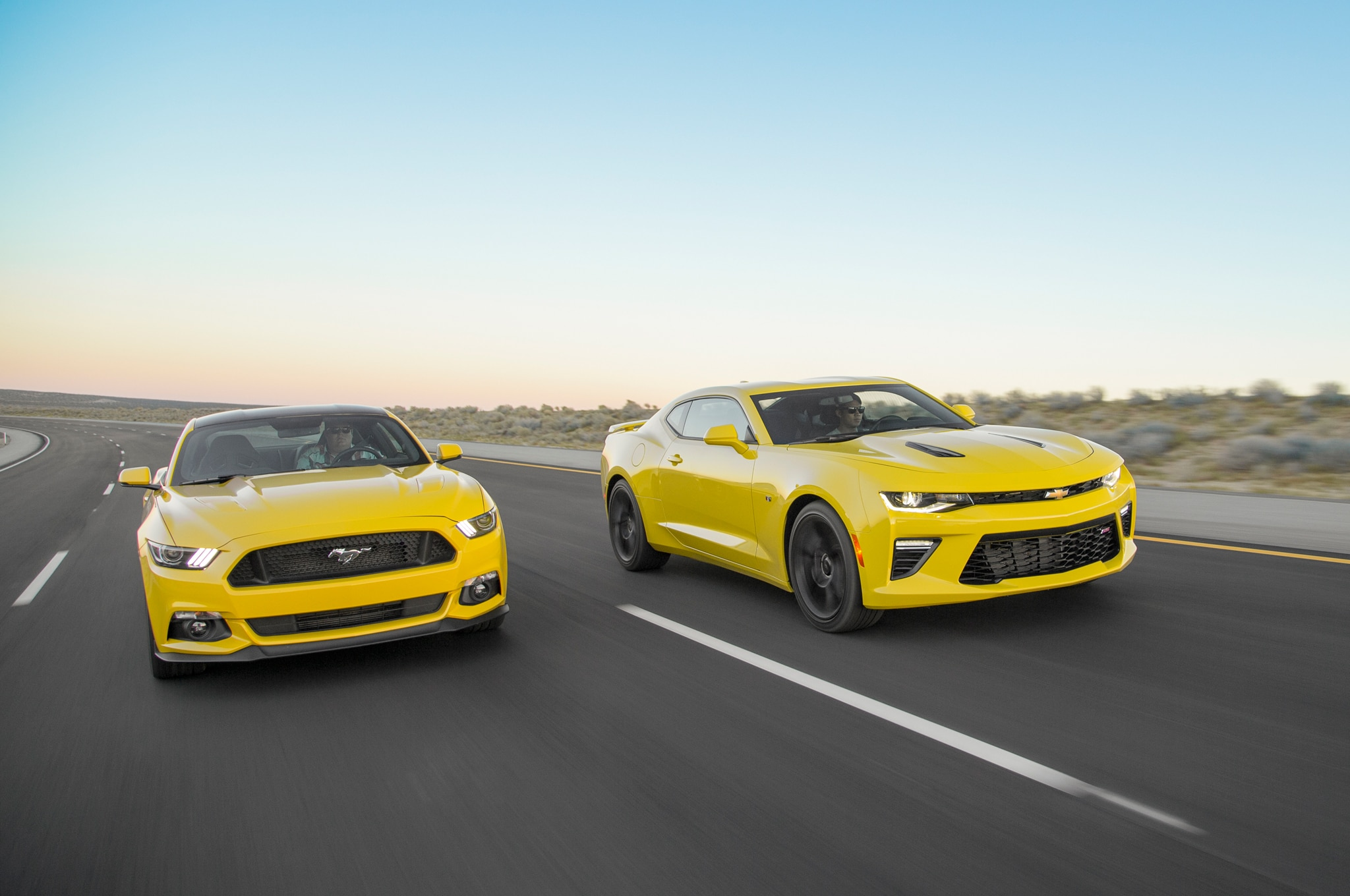 ford mustang against chevy camaro essay