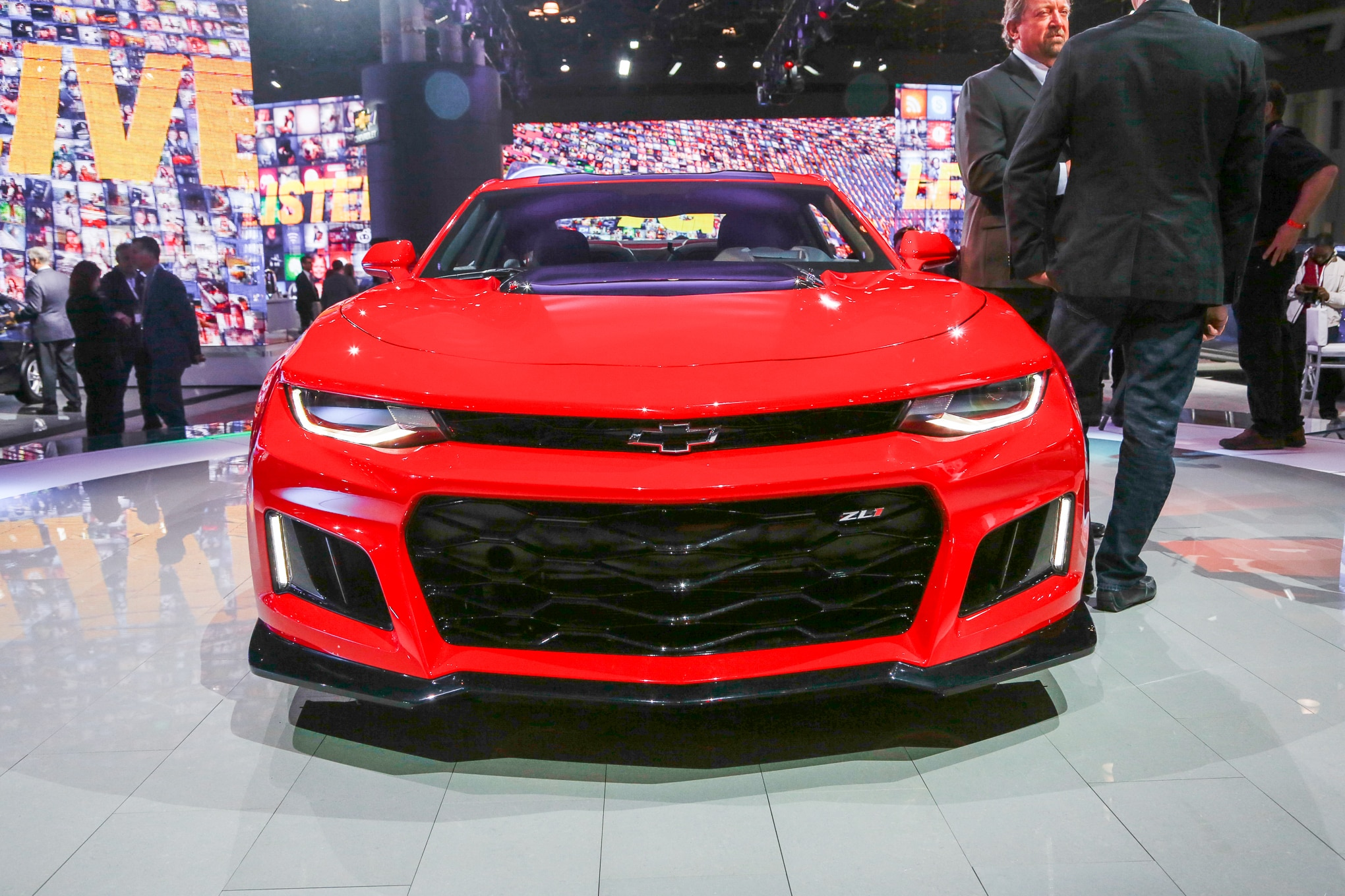 2017 Chevrolet Camaro ZL1 Front End