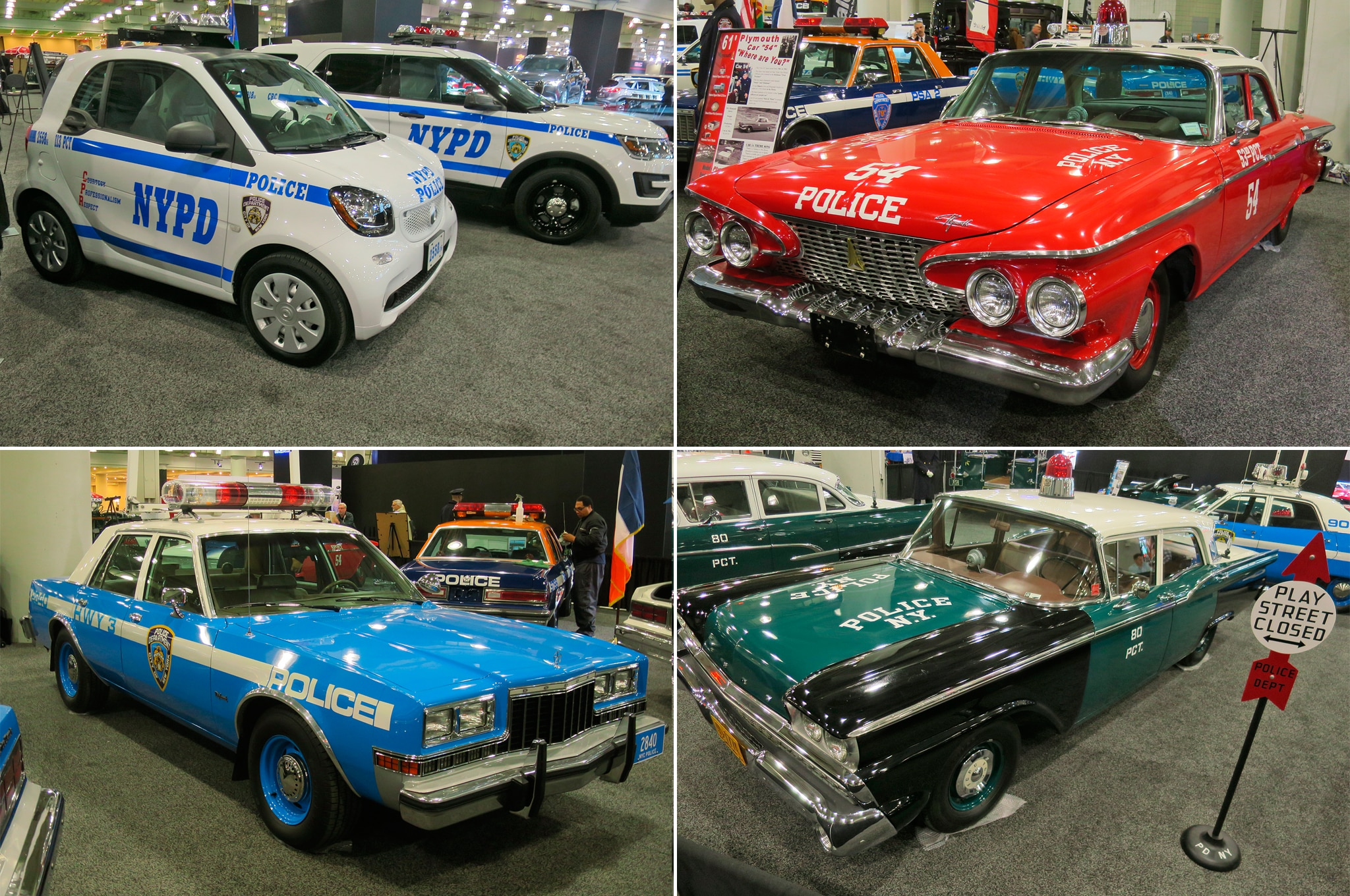 The Vintage NYPD Police Cars Of The New York Show