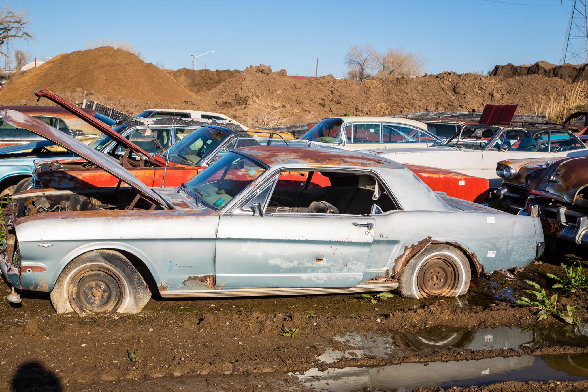 El dep sito ha recolectado autos cl sicos durante d cadas for Motor city muscle car parts