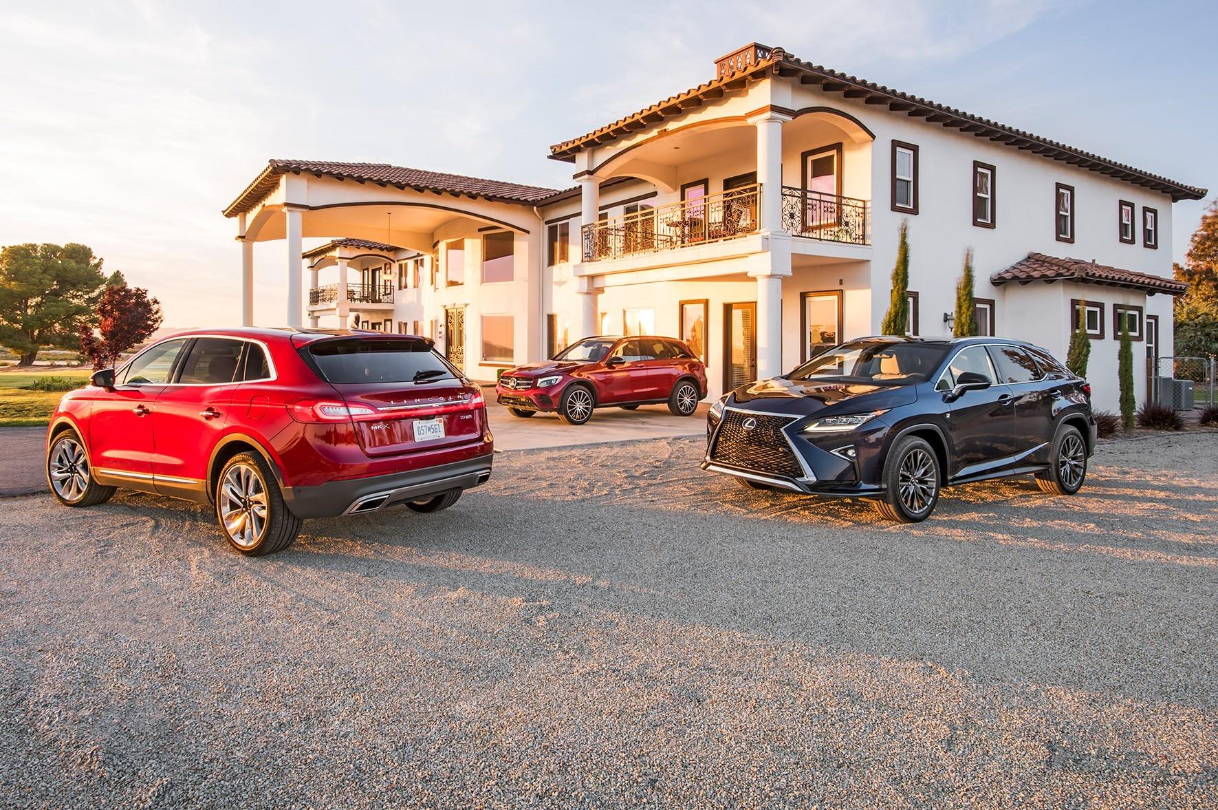 Comparativa lexus rx vs mercedes benz glc vs lincoln for Mercedes benz lincoln