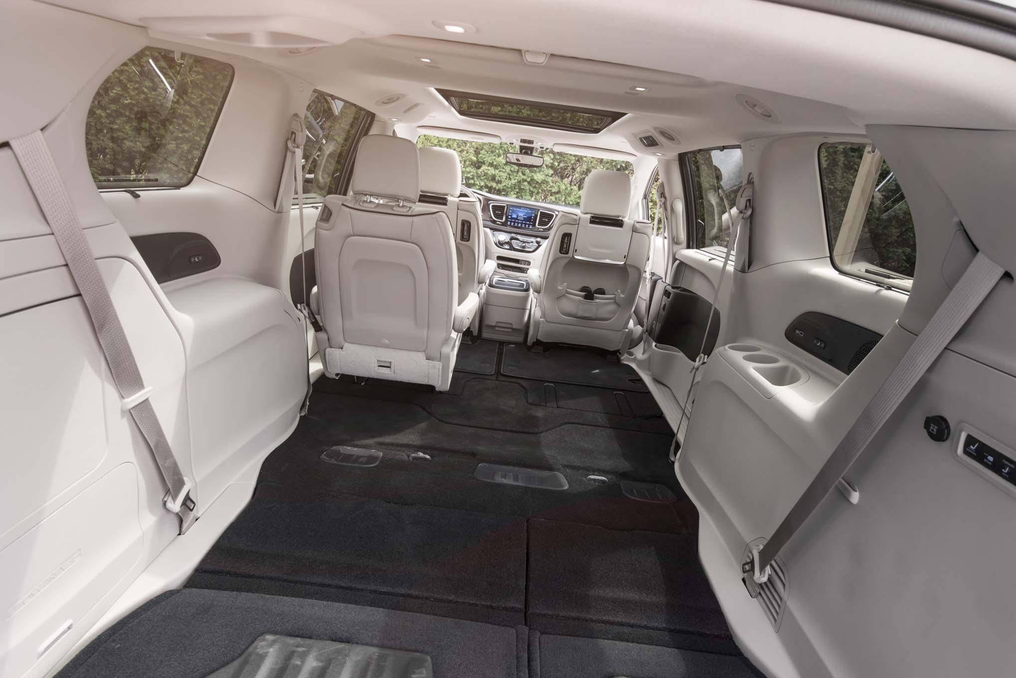 Chrysler pacifica limited 2017 primera prueba for Chrysler pacifica 2017 interior