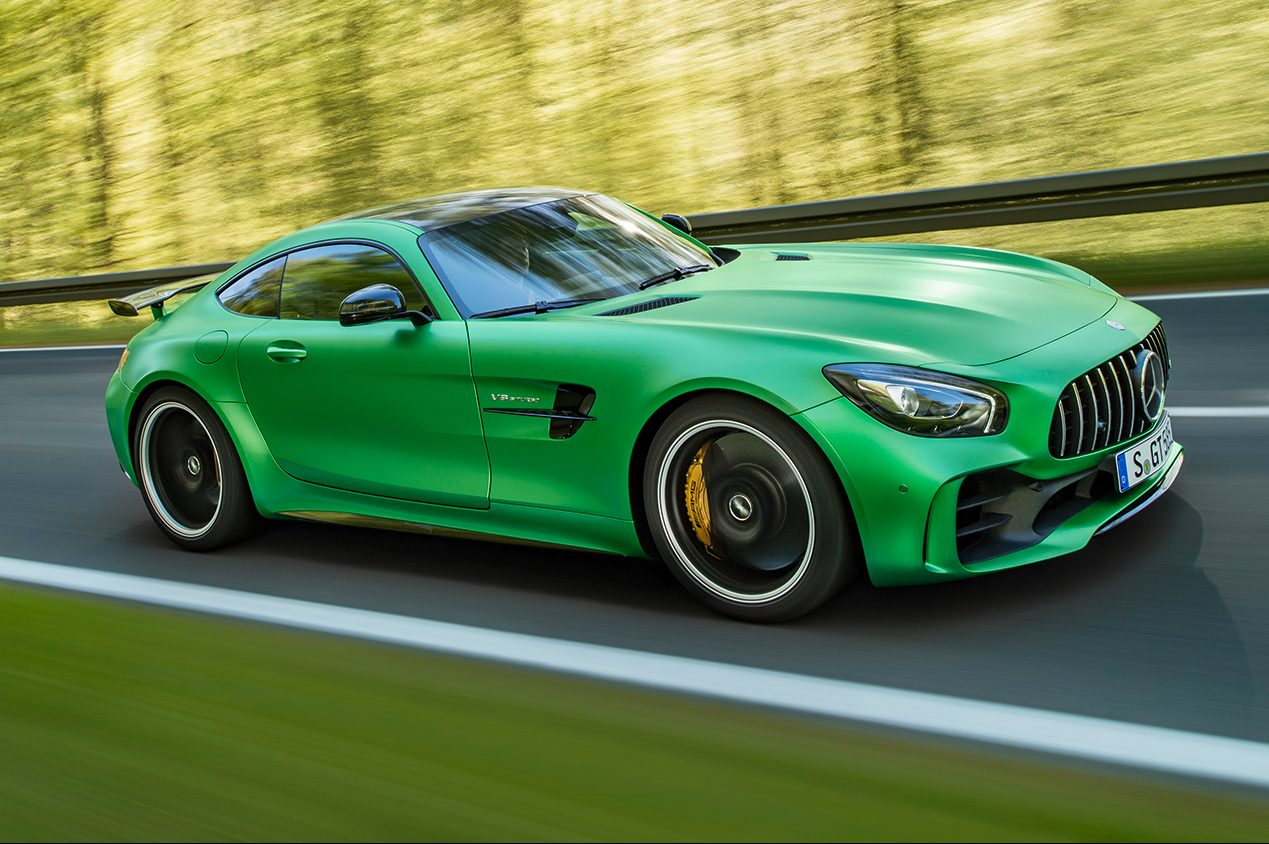 2018 Mercedes AMG GT R Side In Motion 1 E1466720852825