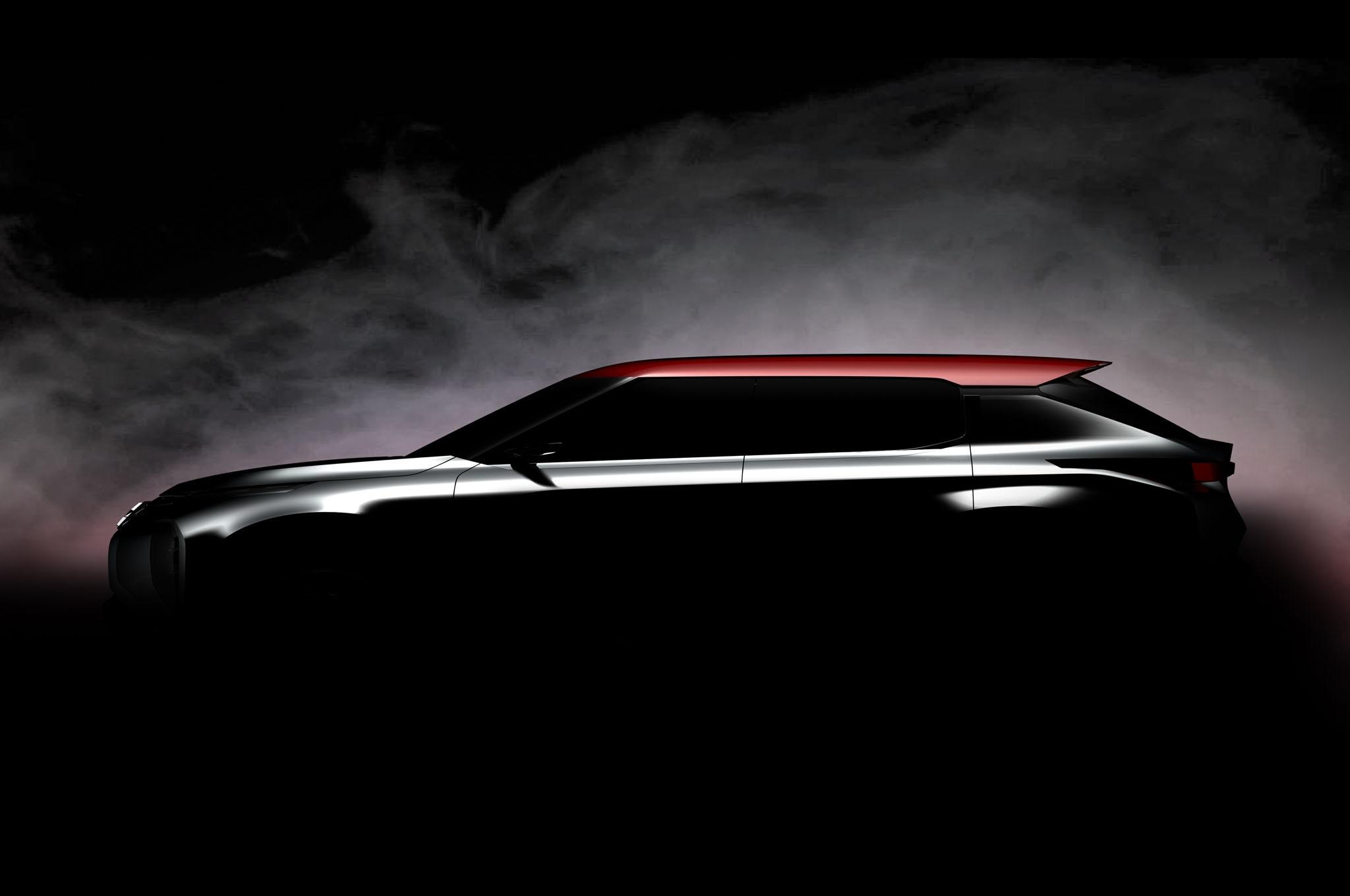 Mitsubishi Grand Tourer Concept Teaser1