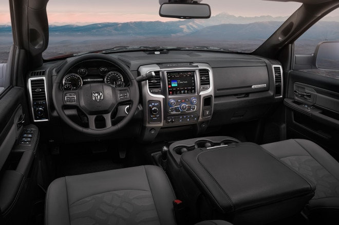 2017 Ram 2500 Power Wagon interior