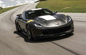 2017 Chevrolet Corvette Grand Front Three Quarter In Motion 11 E1470089711142 3 300x191