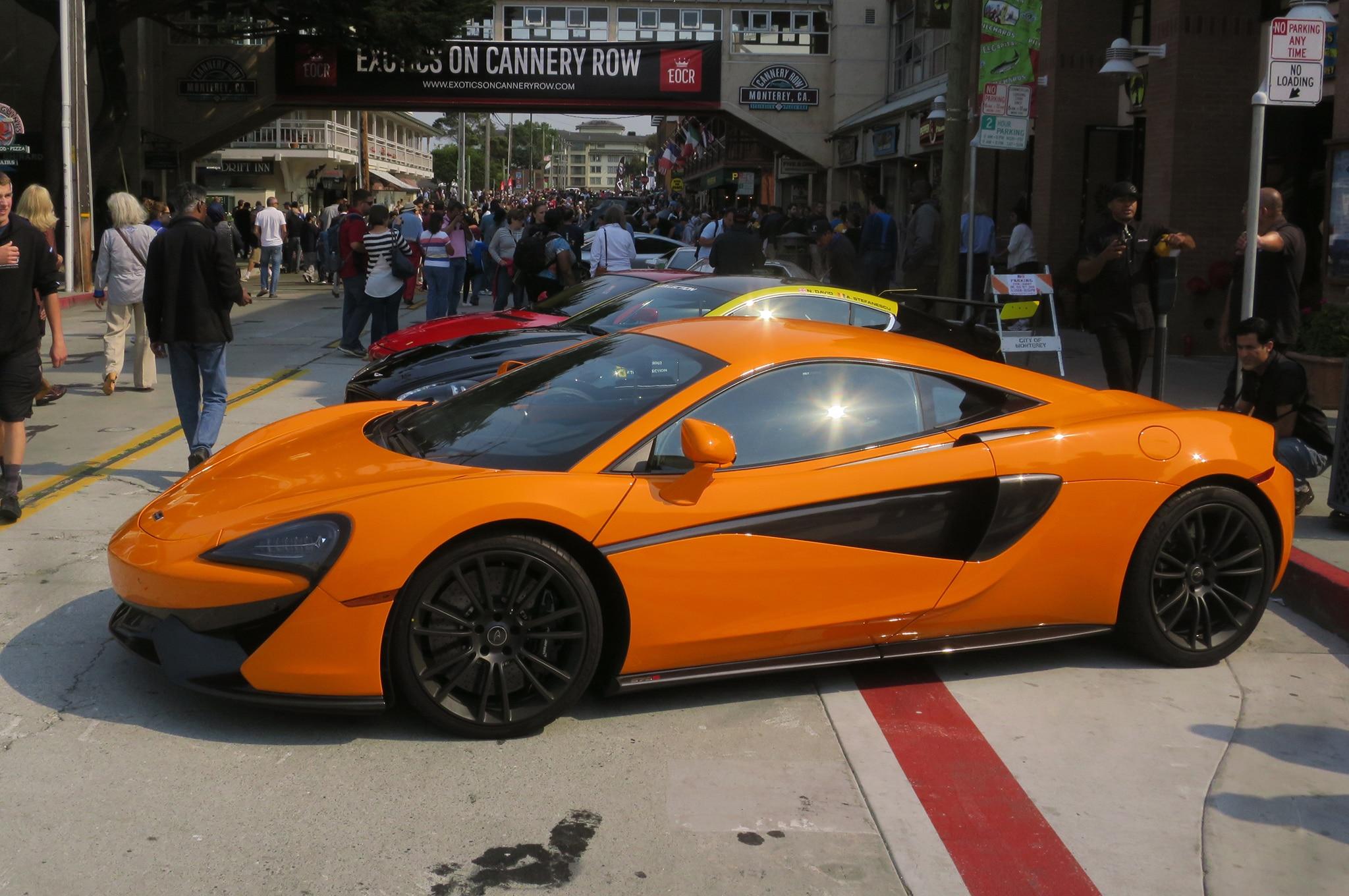 McLaren 570S Front Three Quarters