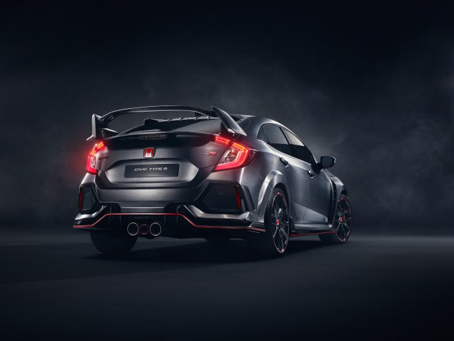 02 Civic Type R Prototype Rear 3 4