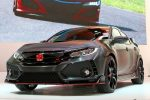2018 Honda Civic Type R Front Three Quarters 150x100