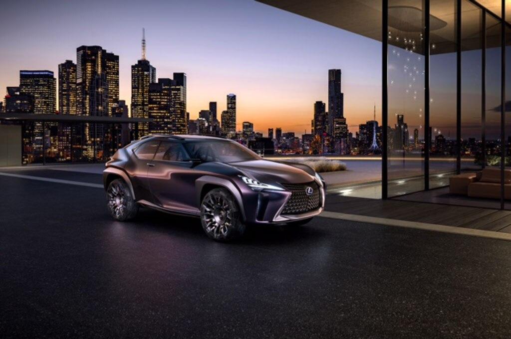 Lexus UX Concept Front Three Quarters