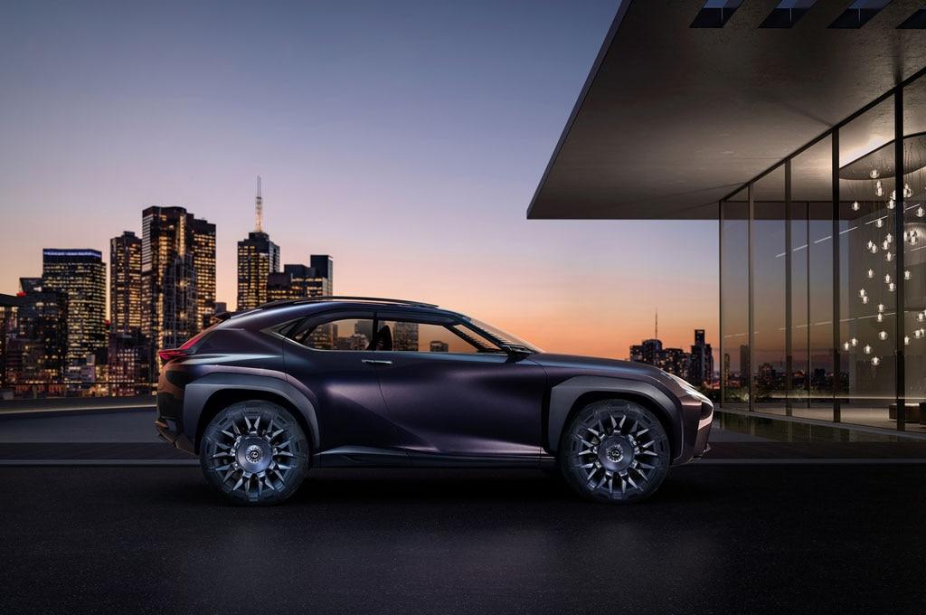 Lexus UX Concept Side Look