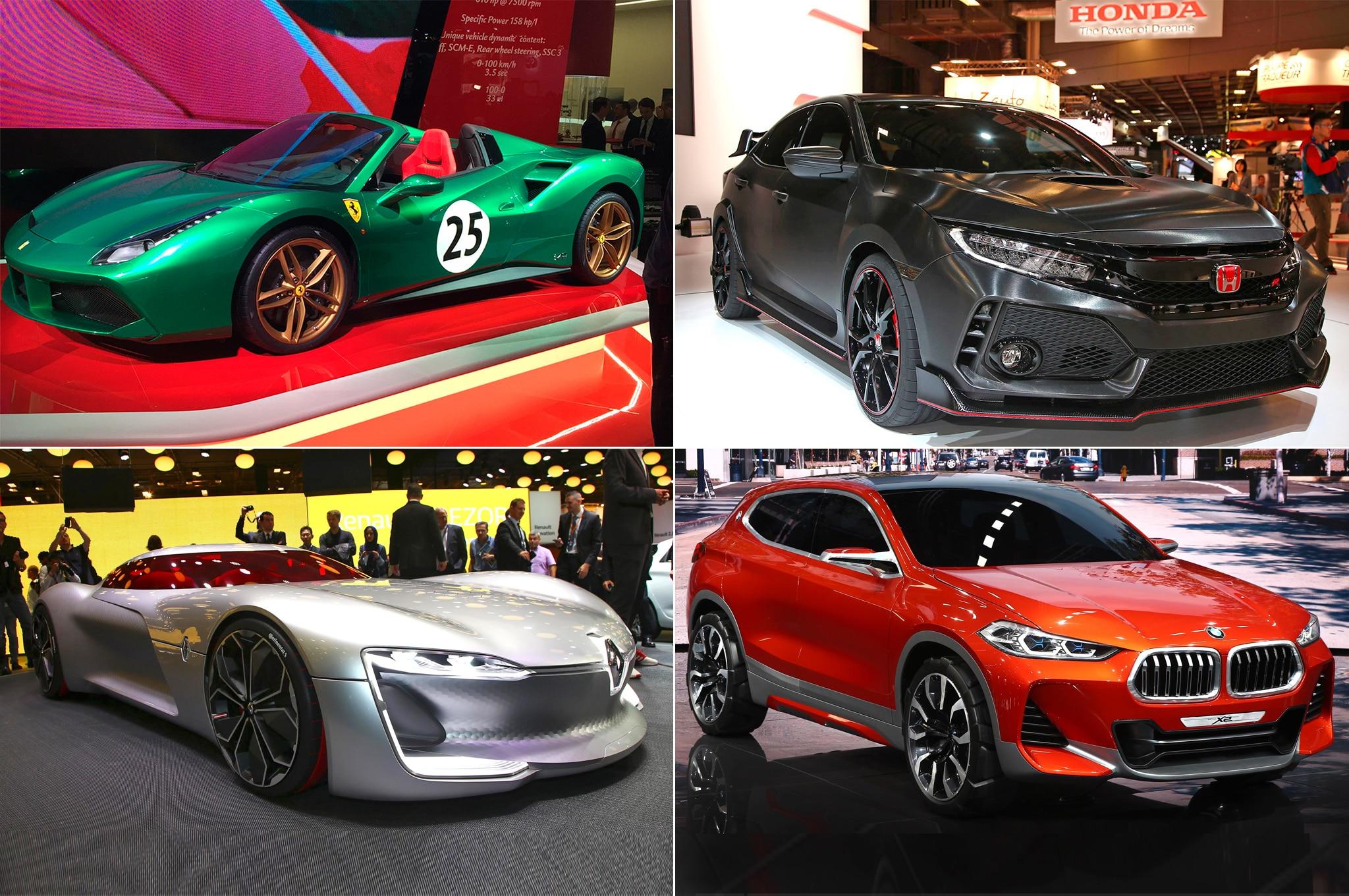 Top Picks For 2016 Paris Motor Show