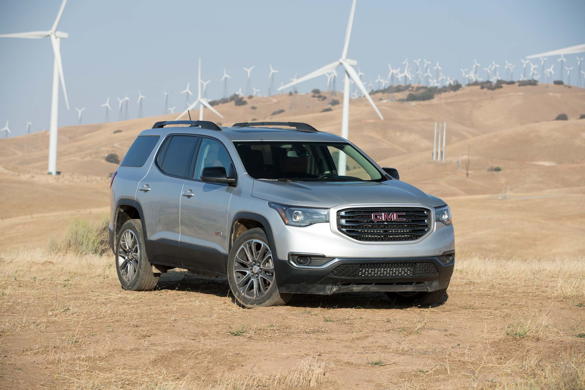 2017 GMC Acadia All Terrain front three quarter