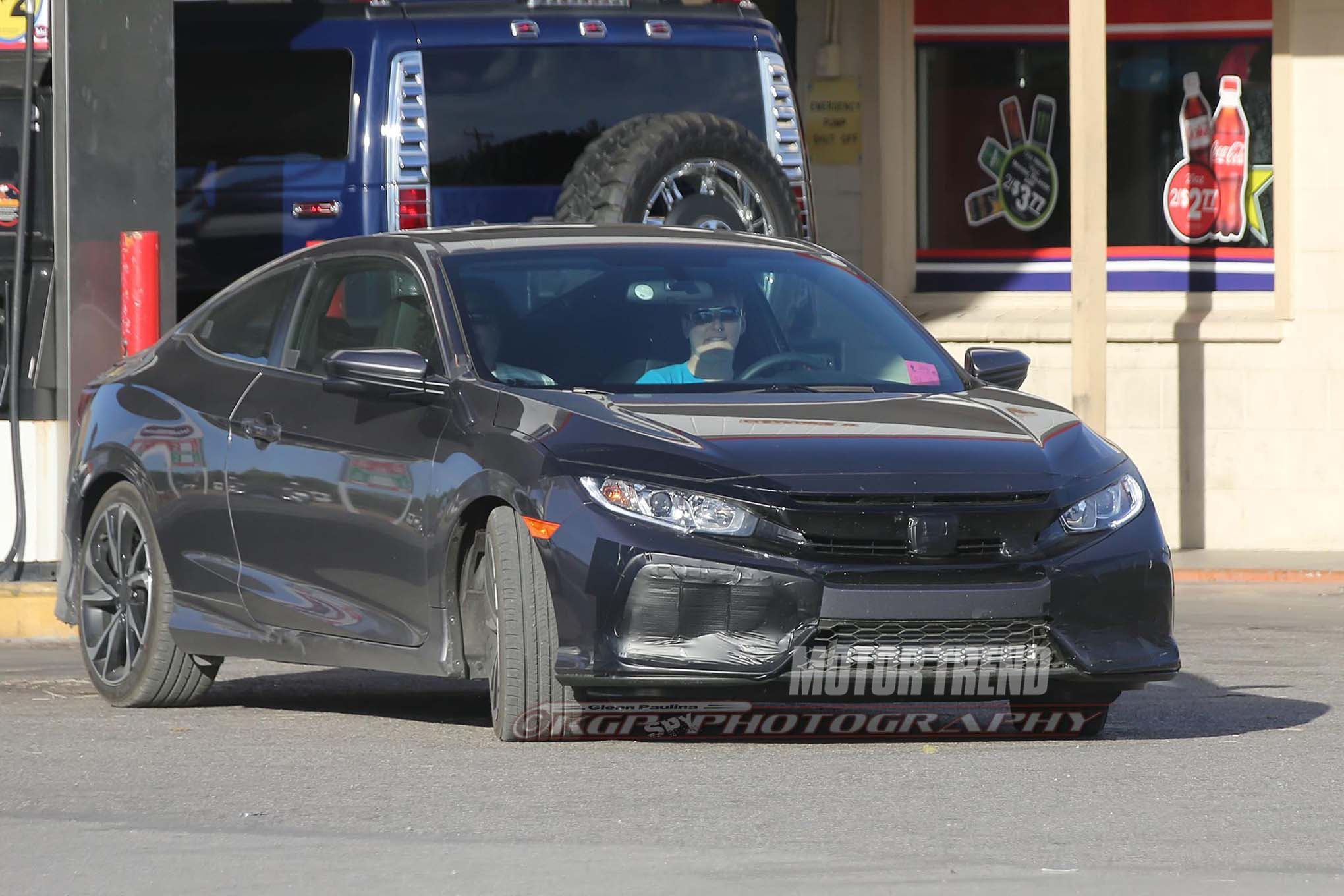 2017 Honda Civic Si Prototype Front Three Quarters