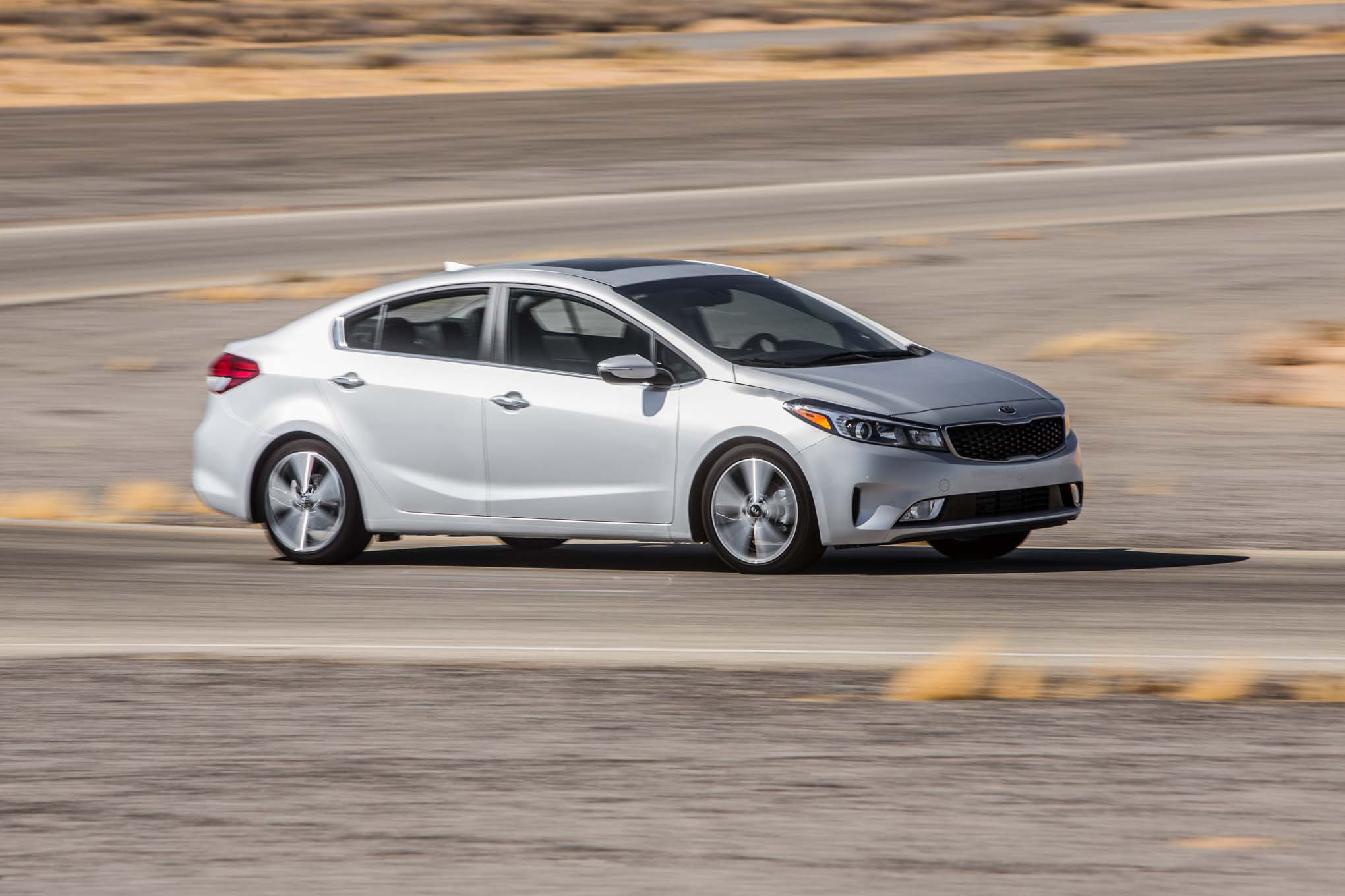 2017 Kia Forte EX front side in motion