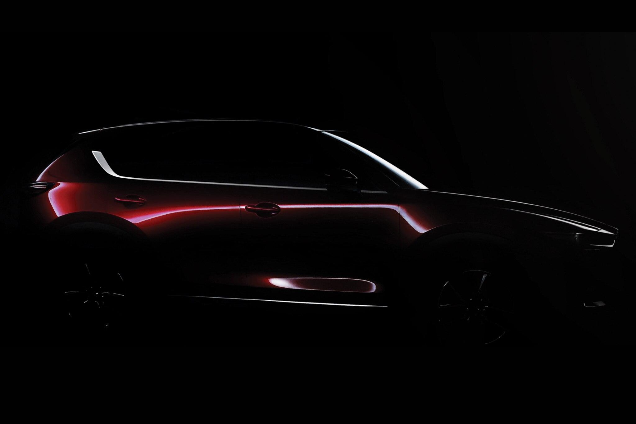 2017 Mazda CX 5 Teaser