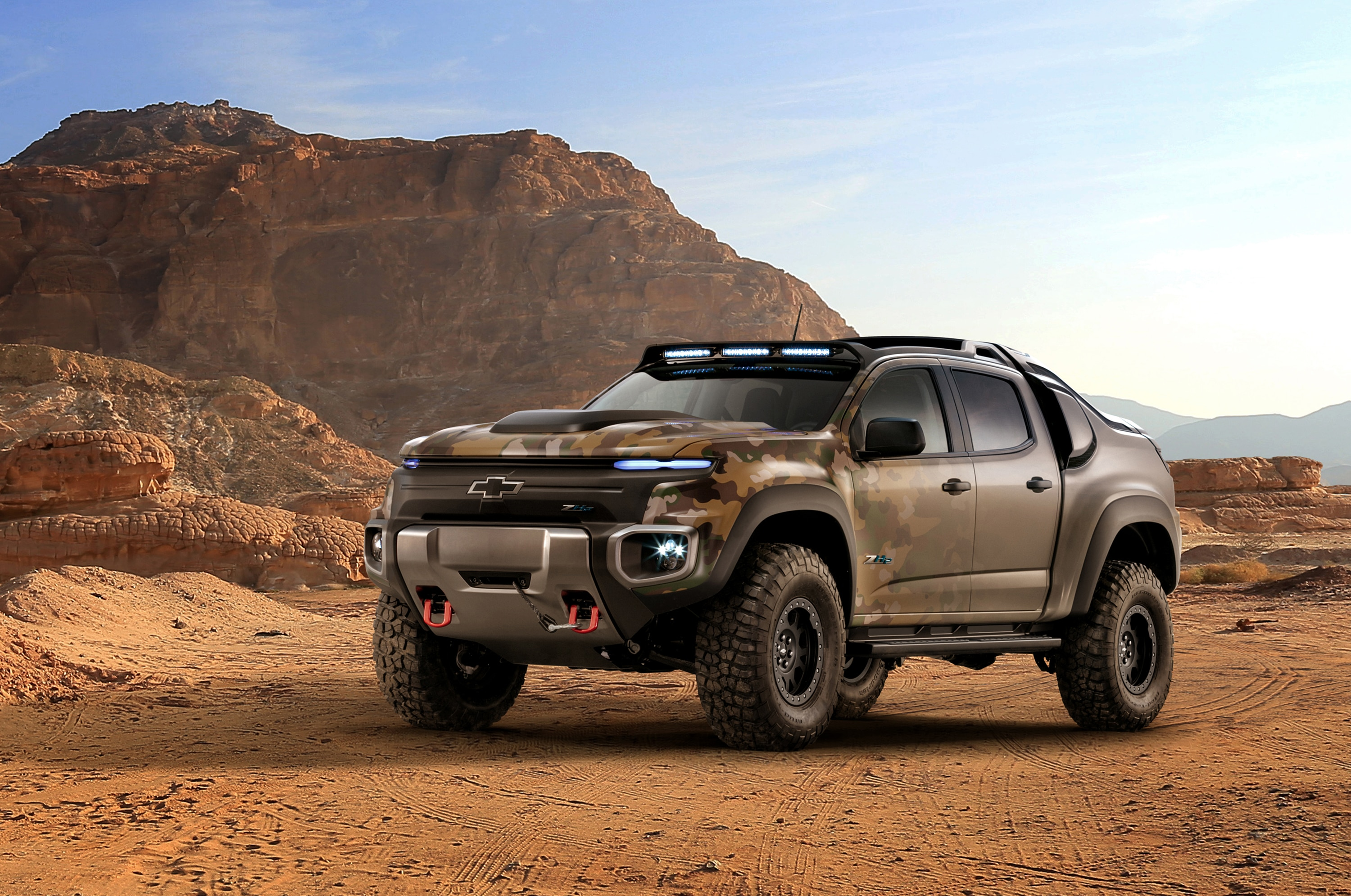 Chevrolet Colorado ZH2 FuelCell ElectricVehicle 001