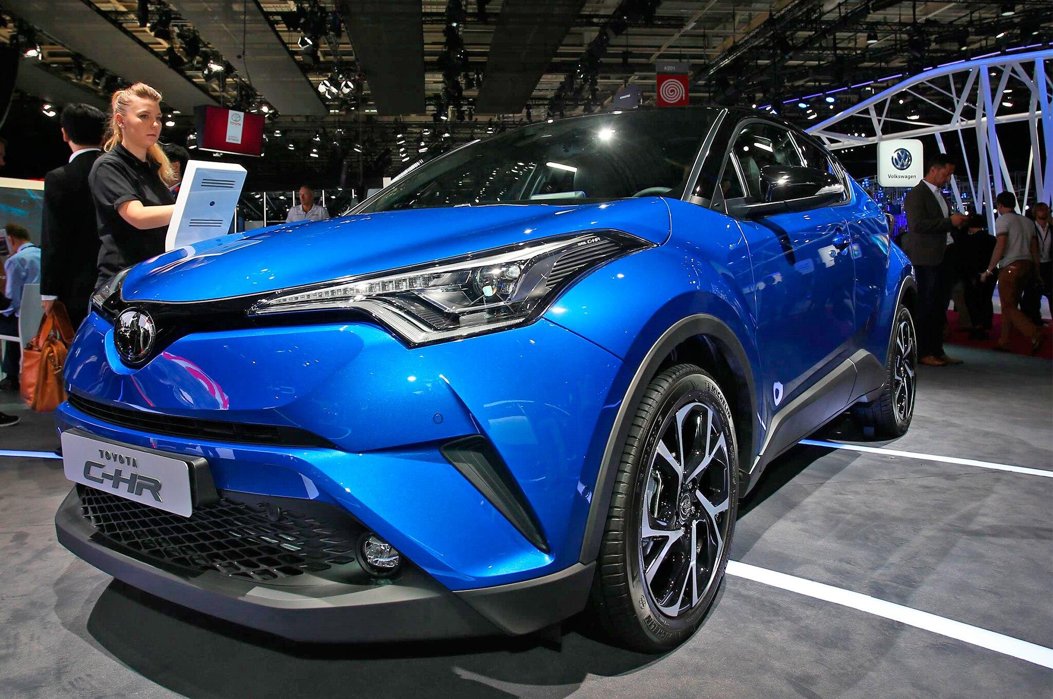 9 Caracter U00edsticas  U00fanicas De La Toyota C-hr