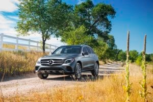 2016 Mercedes Benz GLC 300 4Matic Front Three Quarter 03 300x200