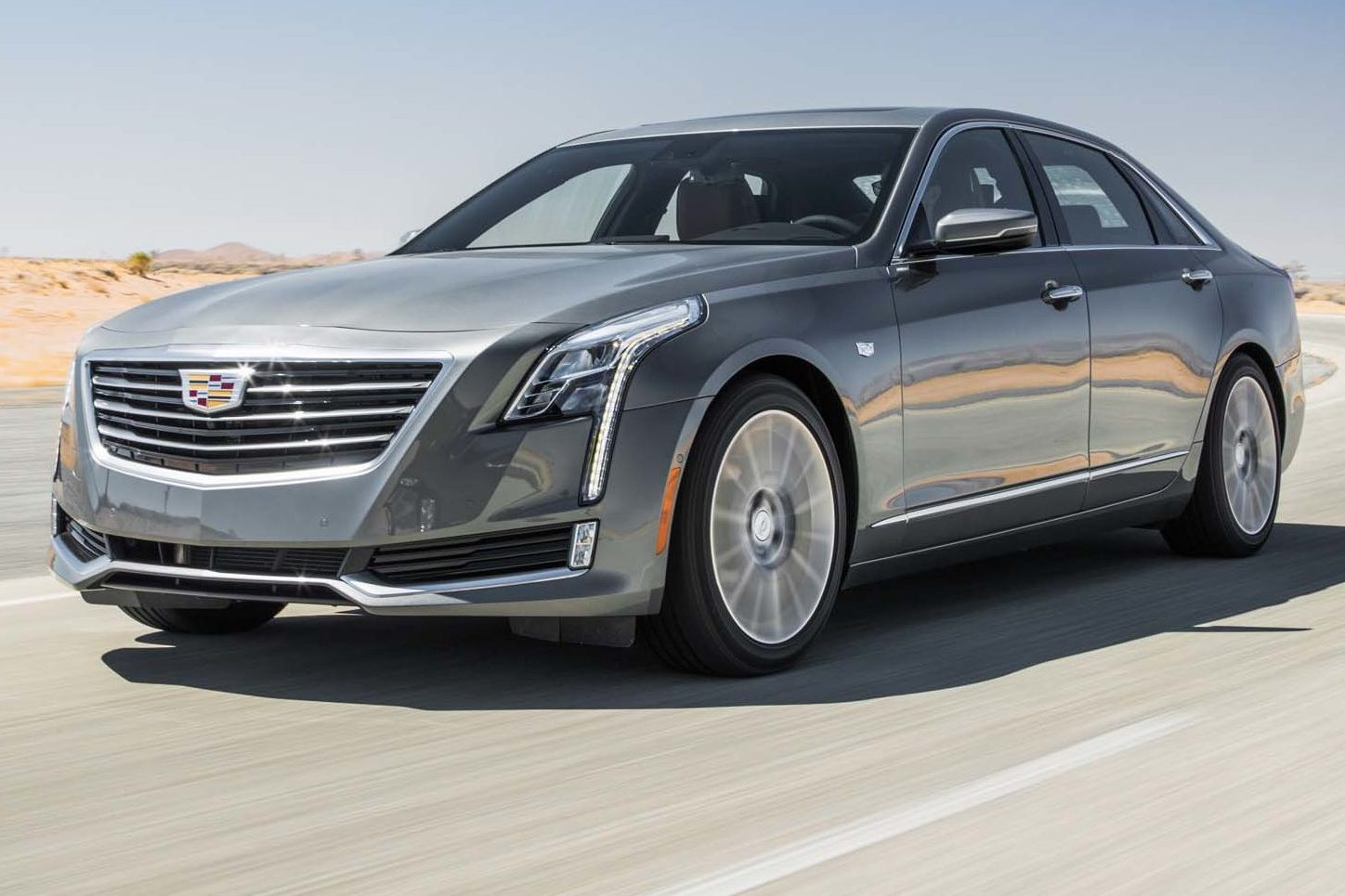 2017 Cadillac CT6 20T Front Three Quarter In Motion E1478276654738