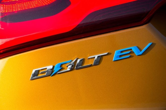 2017 Chevrolet Bolt EV badge 1