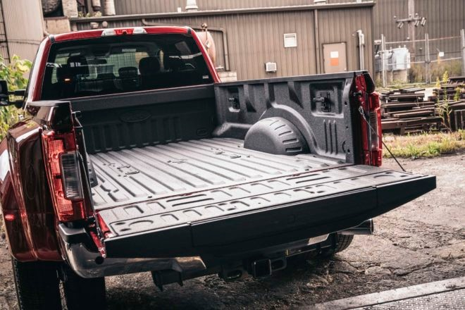 2017 Ford F 250 Lariat 4x4 truck bed