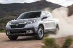 2017 Honda Ridgeline AWD Front Three Quarter In Dirt E1479920097454 2 150x100