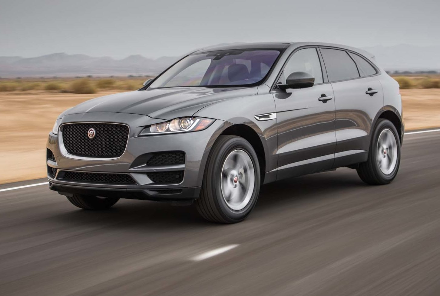 2017 Jaguar F Pace 35t AWD Front Three Quarter In Motion 03 1 E1478014268350