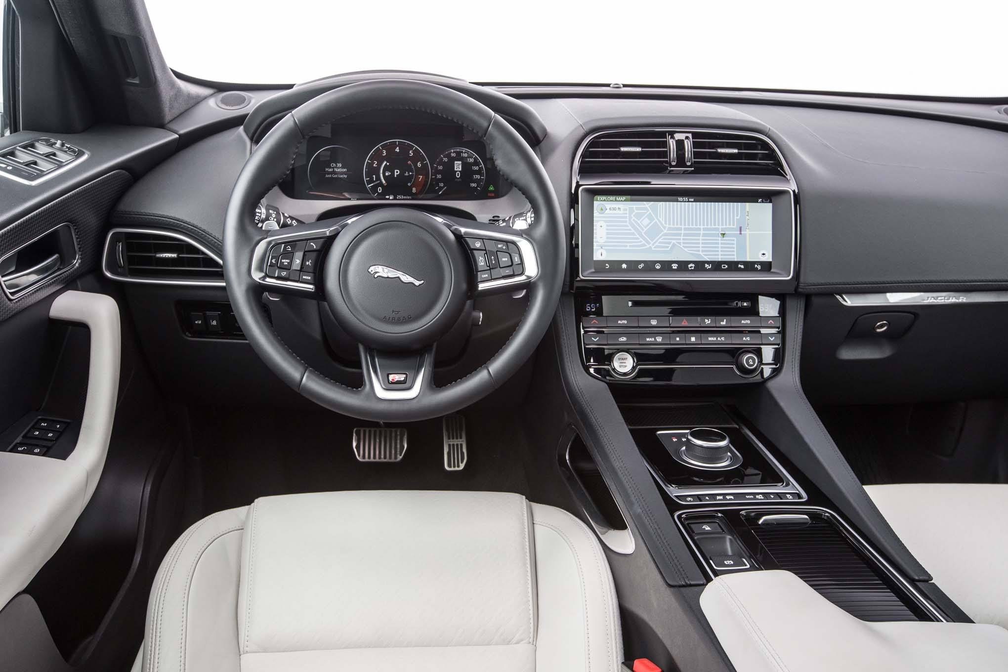 jaguar car 2017 interior - photo #48